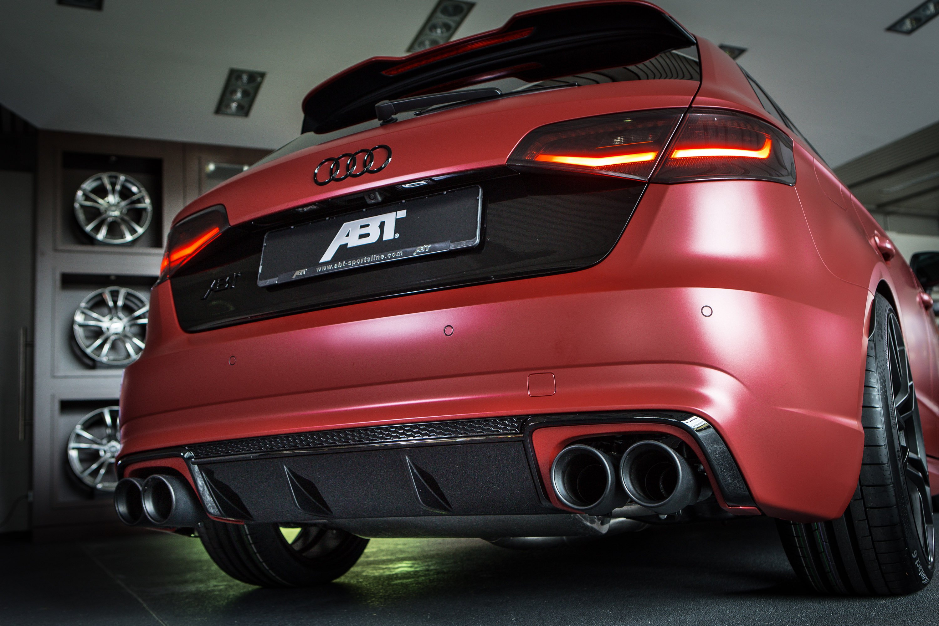 ABT Individual Tunes Audi RS3 to 450HP for Essen Motor Show