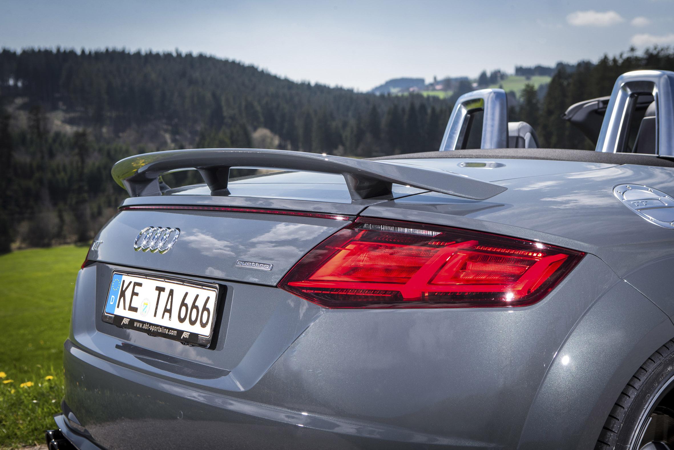 ABT With Their Version Of Audi TT Roadster - Audi tt roadster