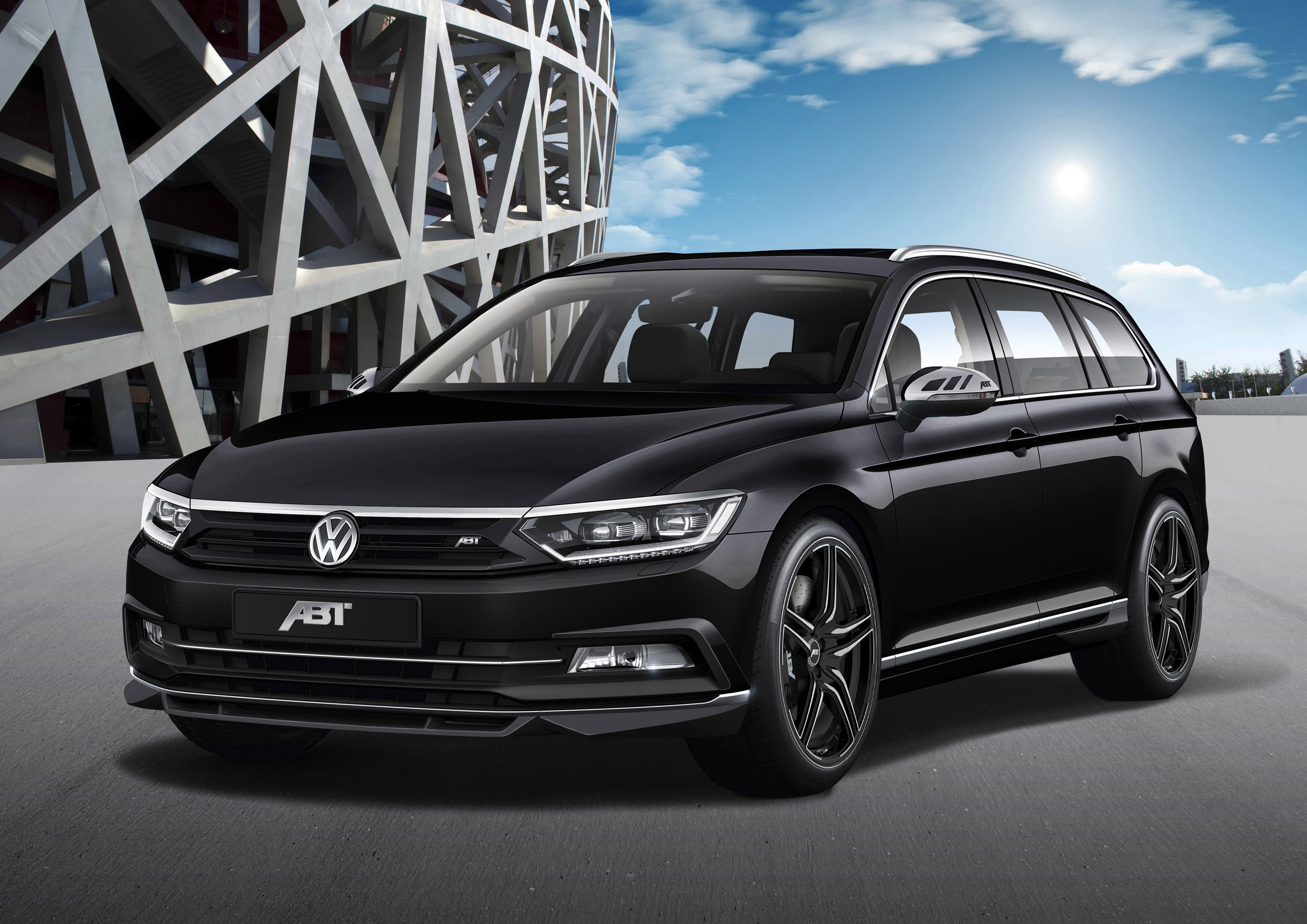 See The Transformed Abt Volkswagen Passat B8