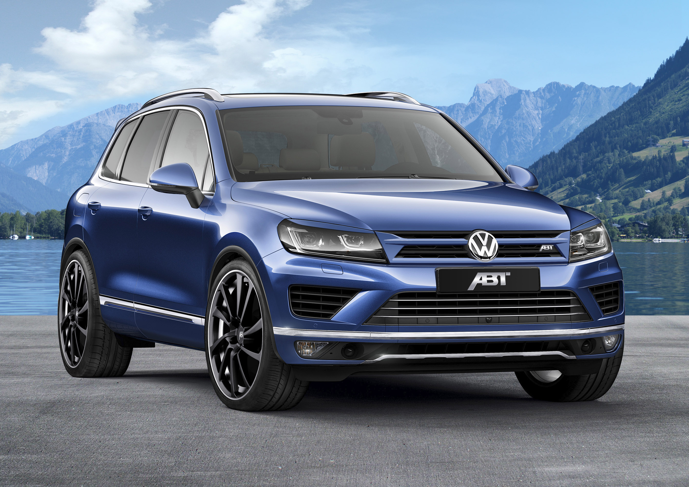 abt volkswagen touareg is capable of 290hp. Black Bedroom Furniture Sets. Home Design Ideas