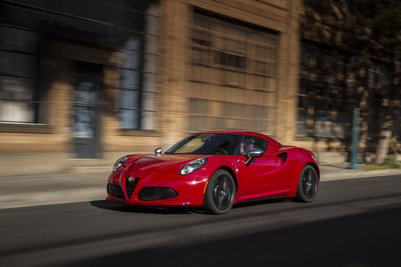 ... 2015 Alfa Romeo 4C US Spec
