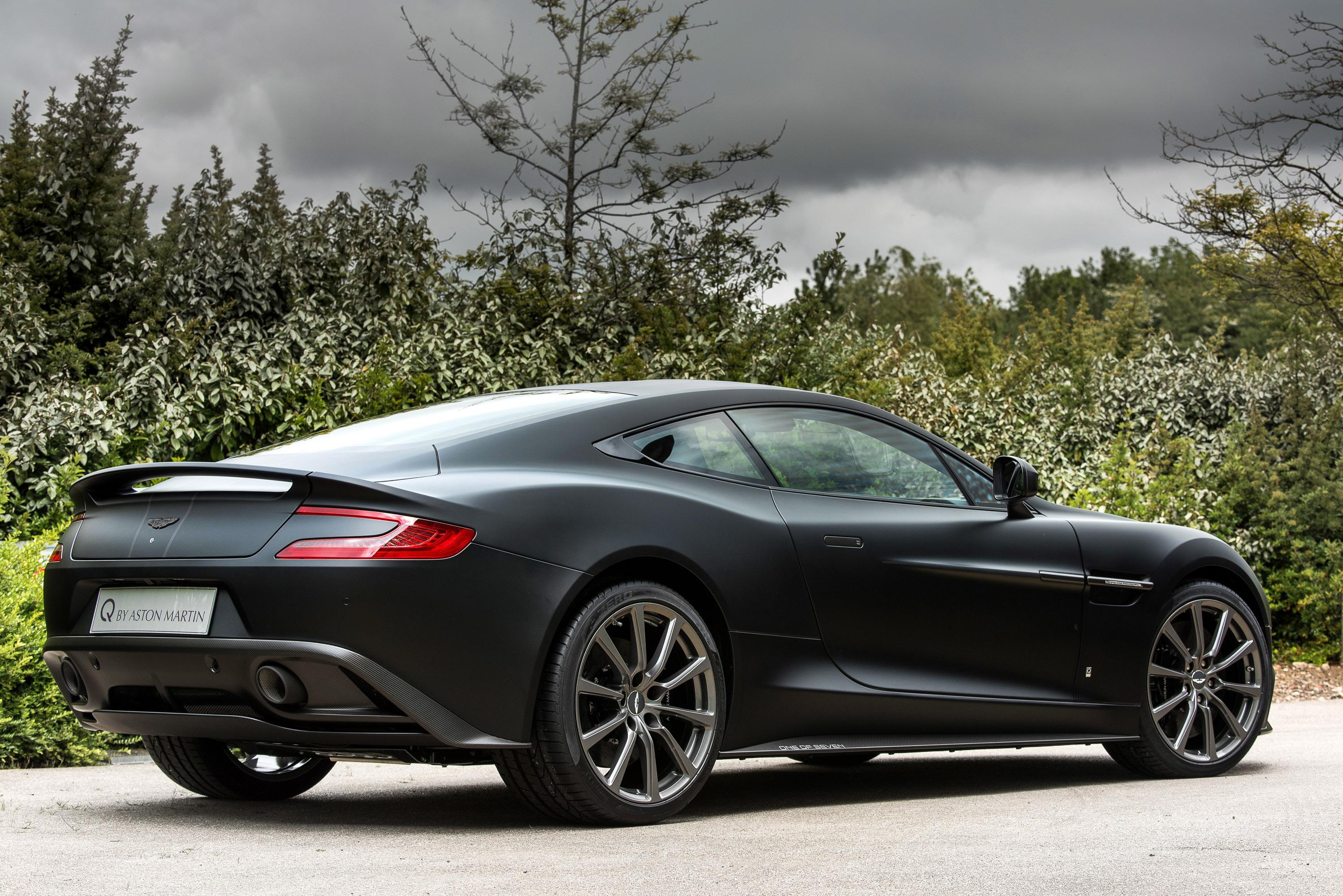 Aston Martin Team Created Seven Unique Vanquish Vehicles