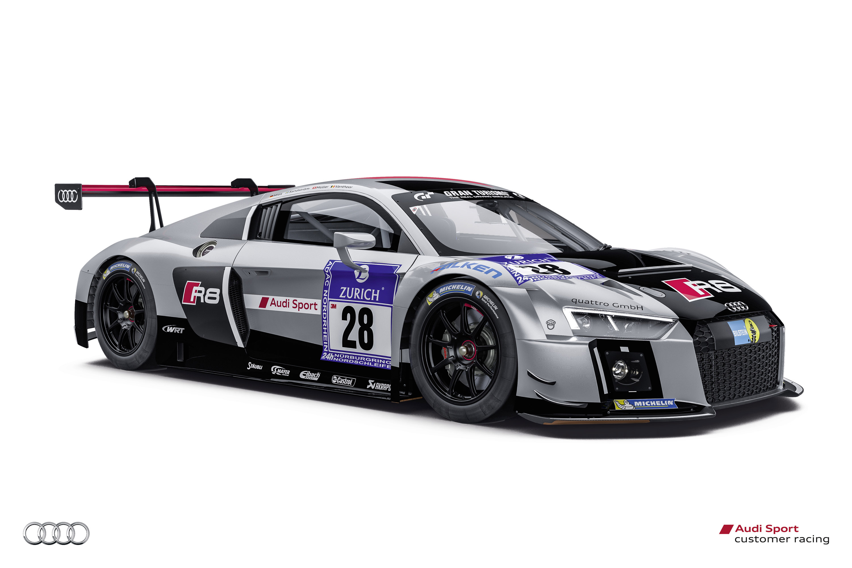 Audi R8 LMS Ready for Nürburgring