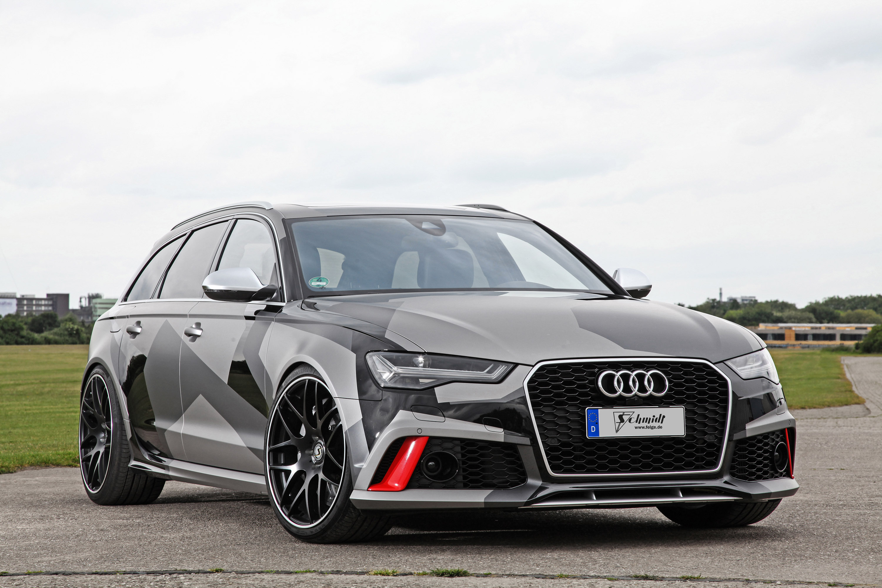 audi rs6 avant received visual and performance upgrades by schmidt revolution team. Black Bedroom Furniture Sets. Home Design Ideas