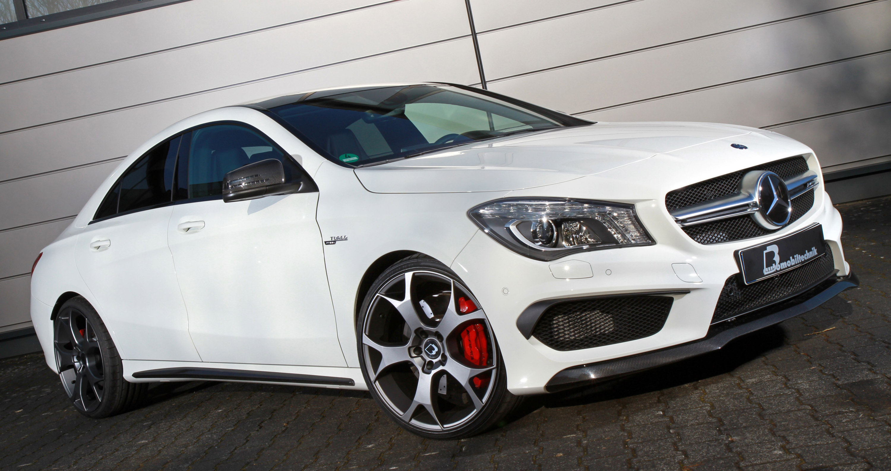 B b mercedes benz cla 45 amg is capable of up to 450 hp 580 nm for Mercedes benze cla