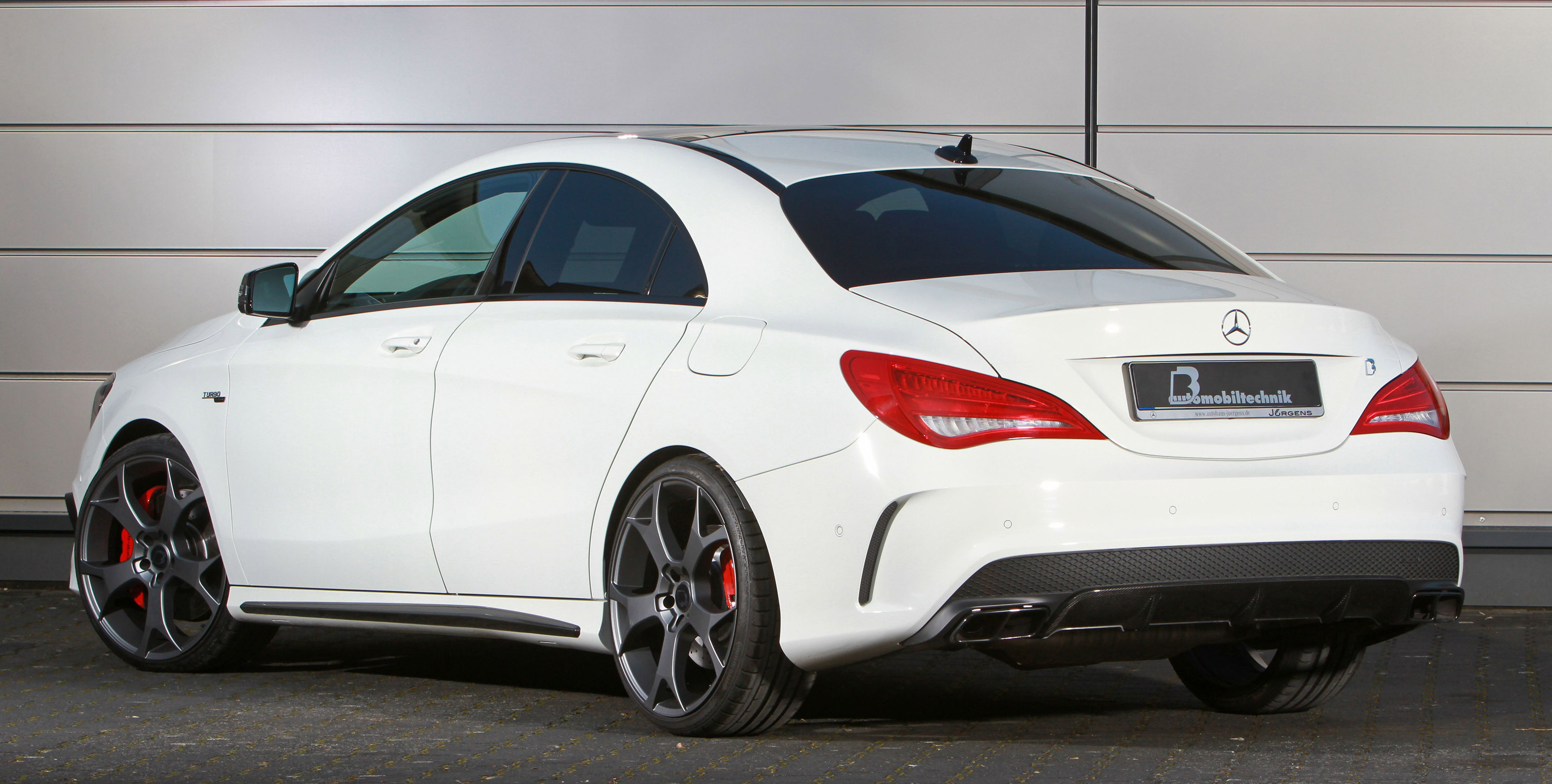 Mercedes Cla Shooting Brake Amg >> B&B Mercedes-Benz CLA 45 AMG is Capable of up to 450 HP/580 Nm