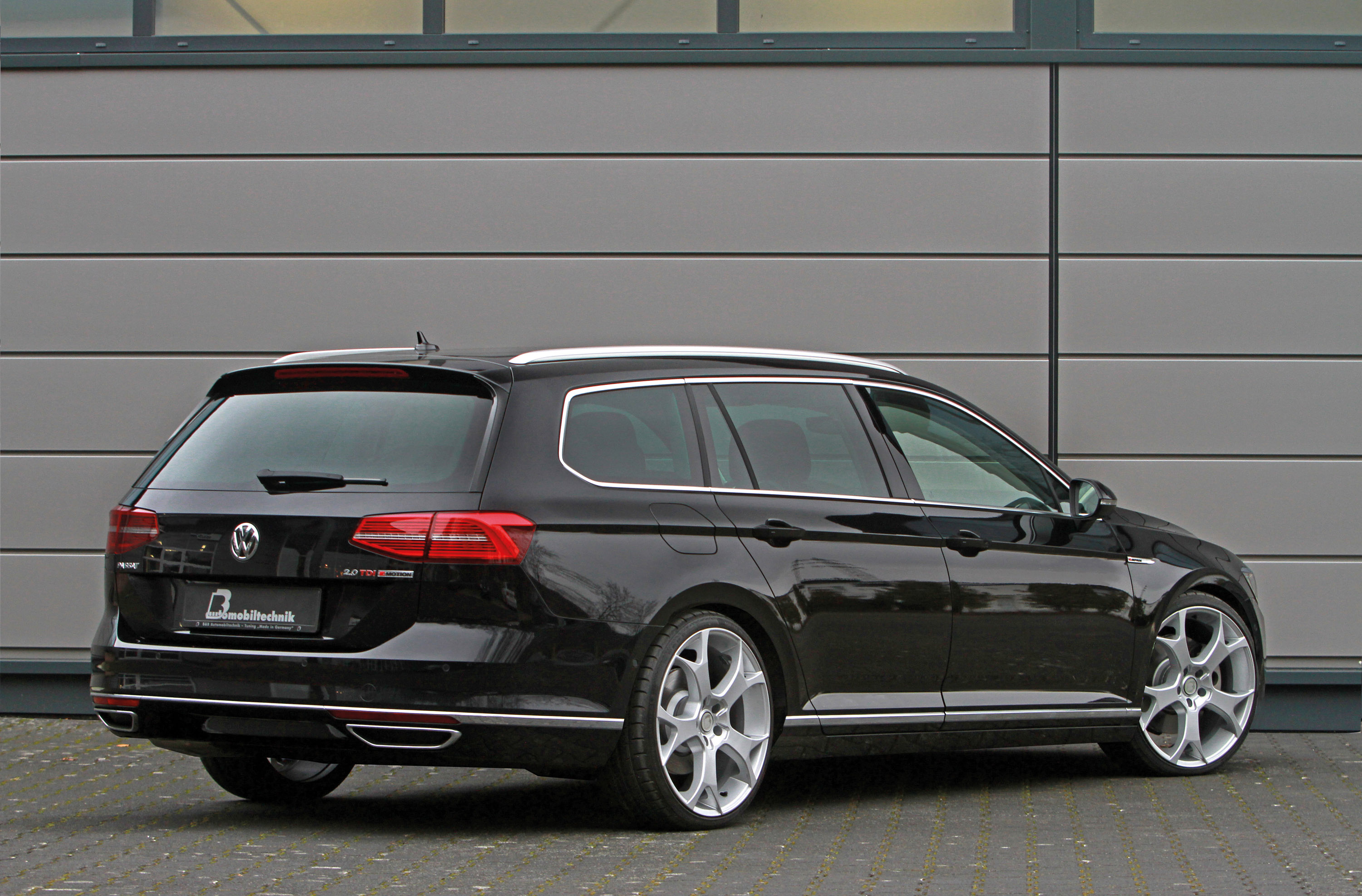 B Amp B Improves The New Vw Passat B8