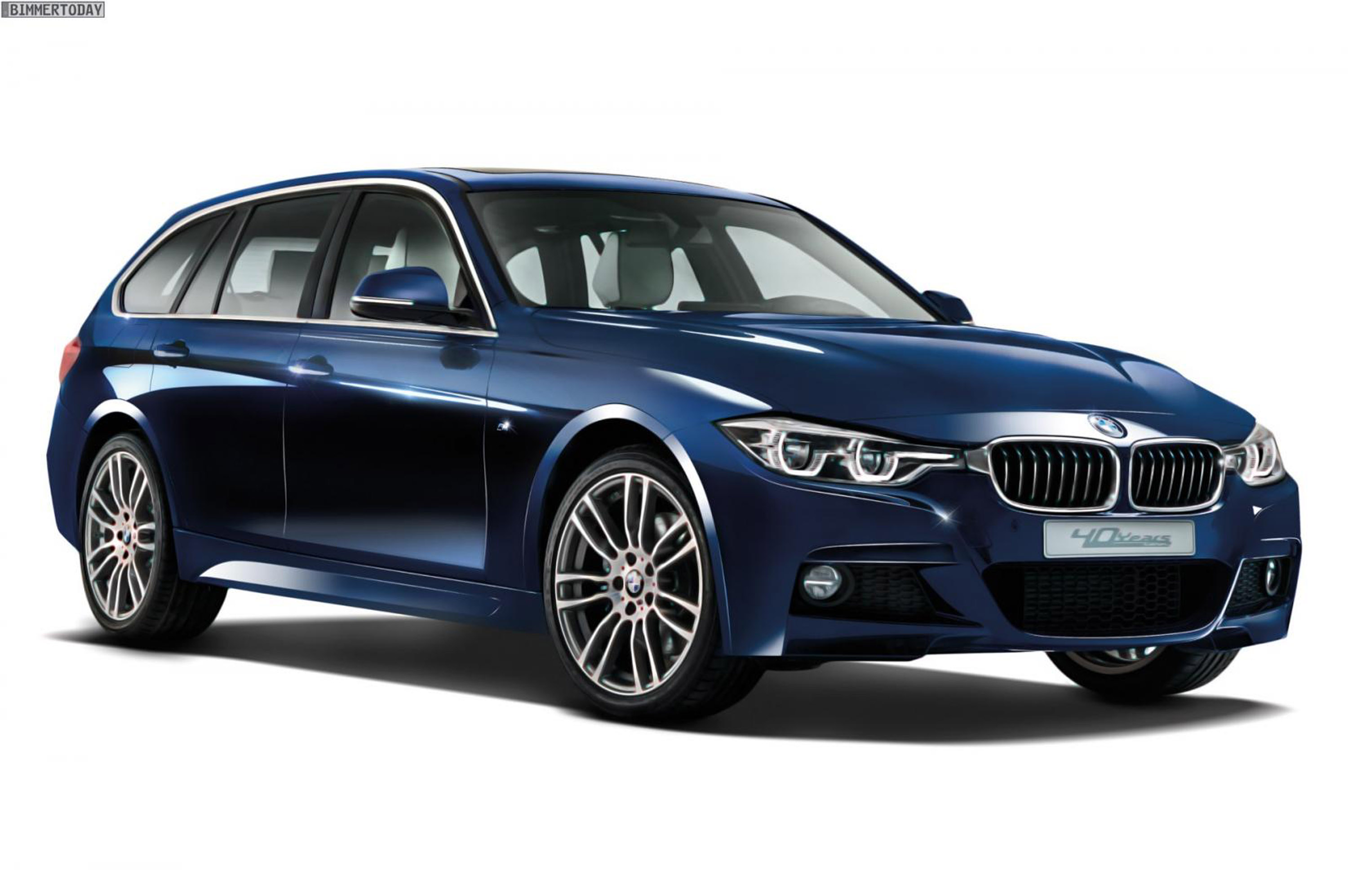 bmw releases limited 320d xdrive touring model. Black Bedroom Furniture Sets. Home Design Ideas