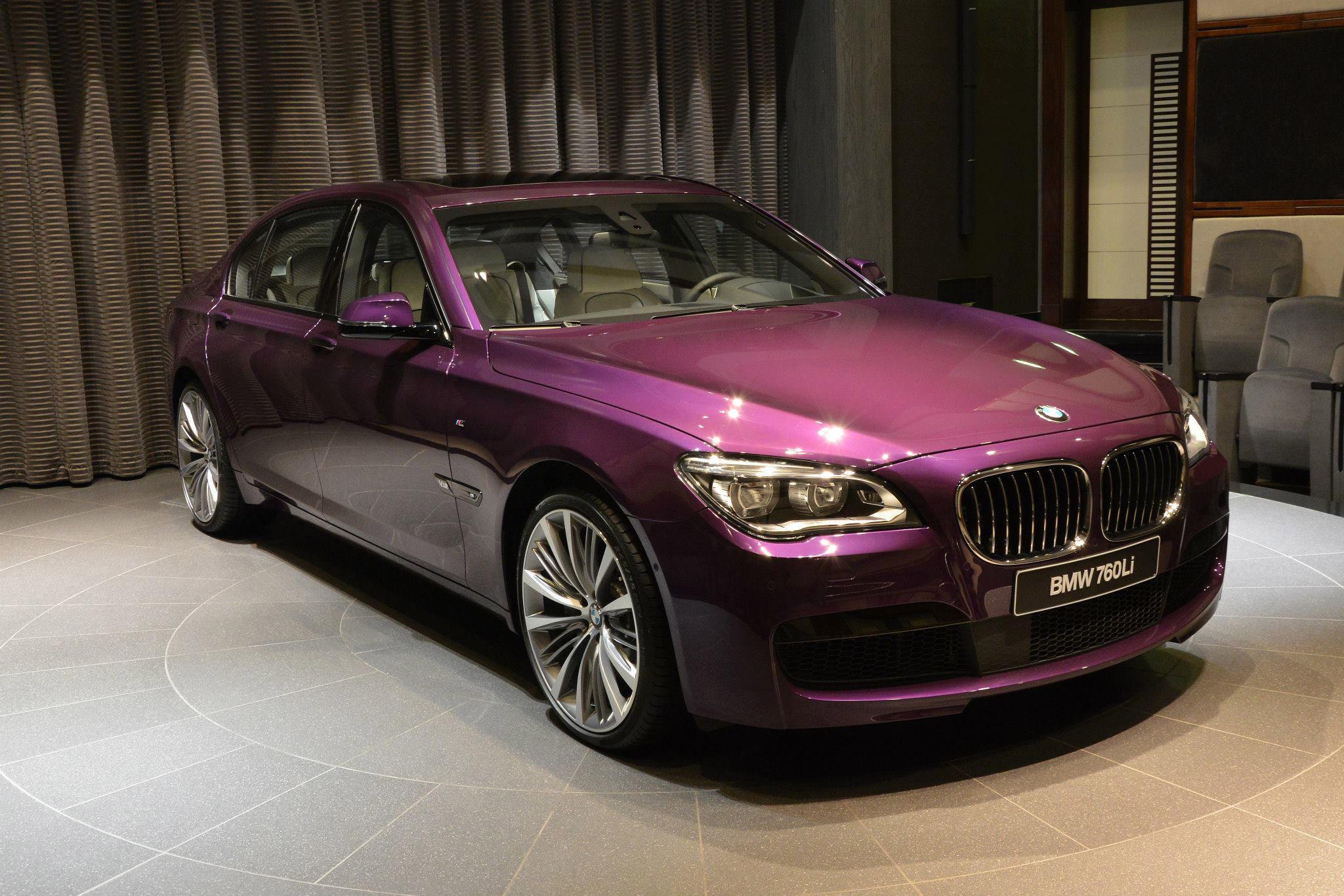 What Do You Think Of This Twilight Purple Bmw 760li