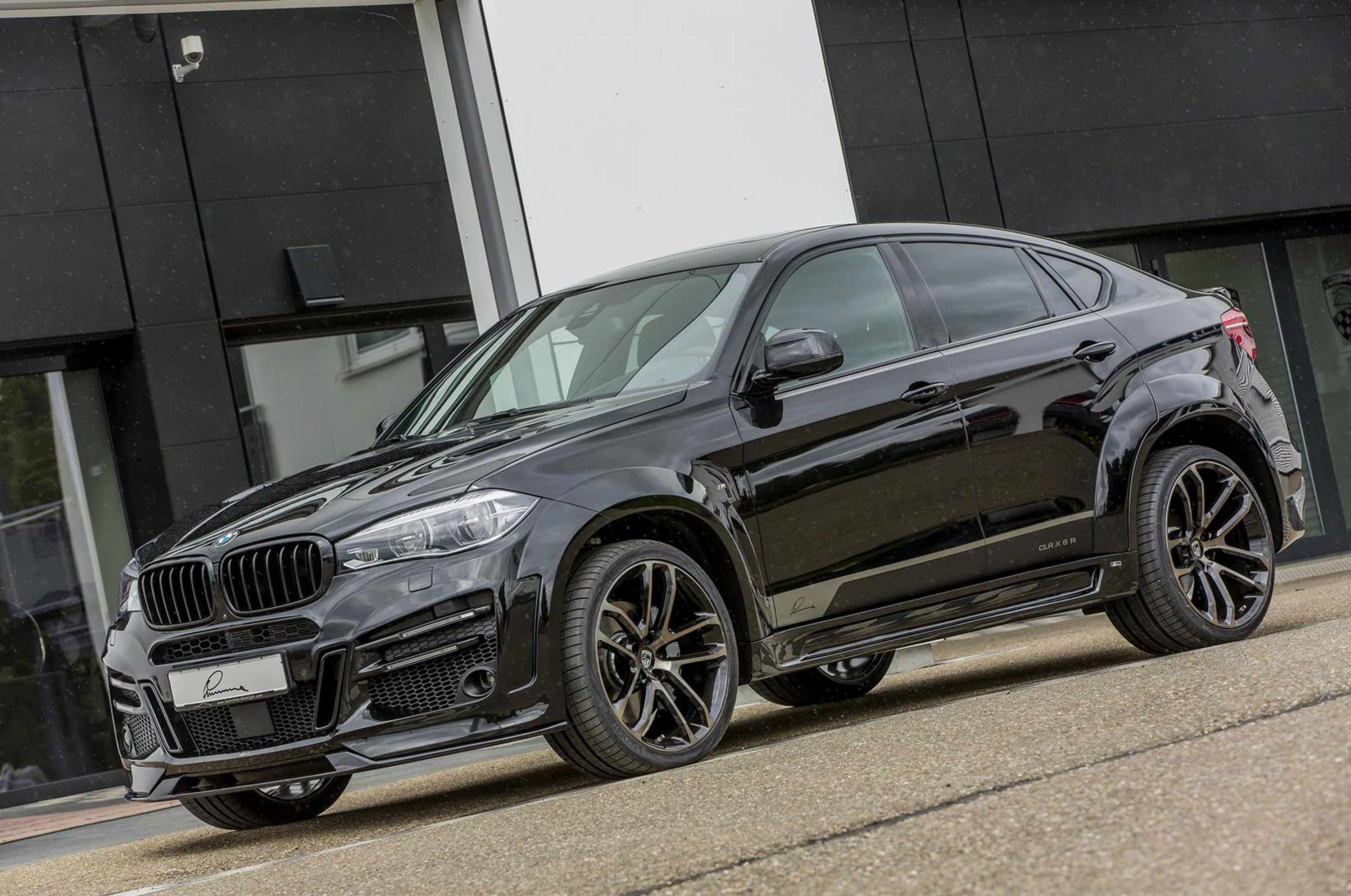 Bmw X6 Clr X6r Is Here To Demonstrate Some Massiveness And