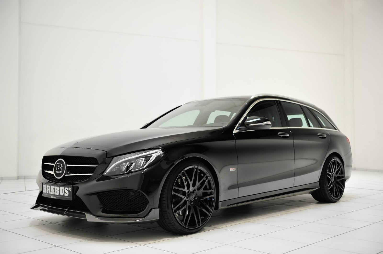 Brabus mercedes benz c class wagon for Black mercedes benz c class