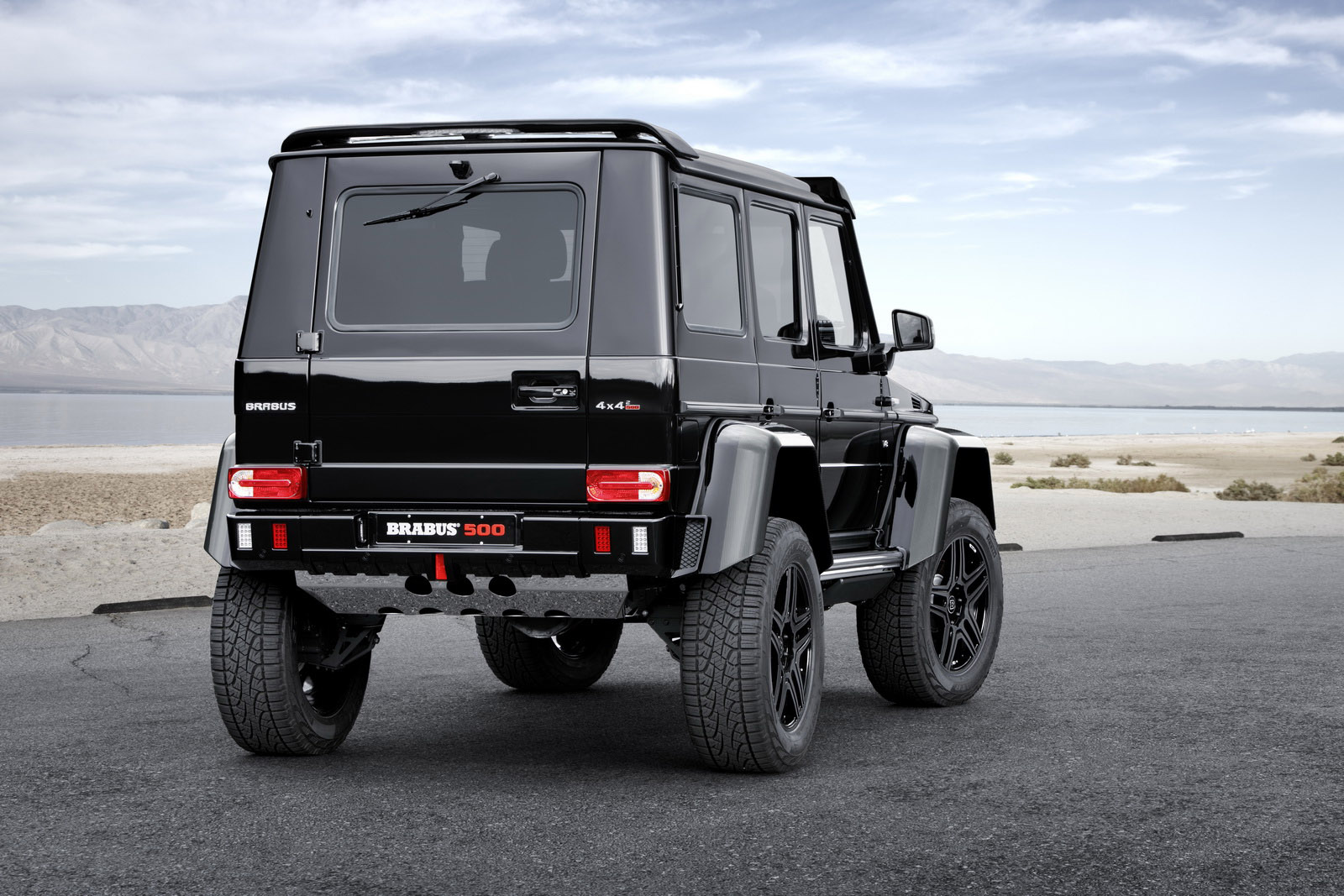 brabus announces mercedes benz g 500 4x4 project for frankfurt. Black Bedroom Furniture Sets. Home Design Ideas
