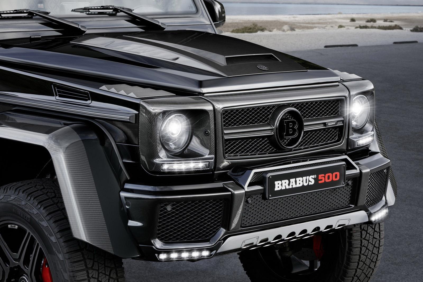brabus announces mercedes benz g 500 4x4 project for frankfurt. Black Bedroom Furniture Sets. Home Design Ideas