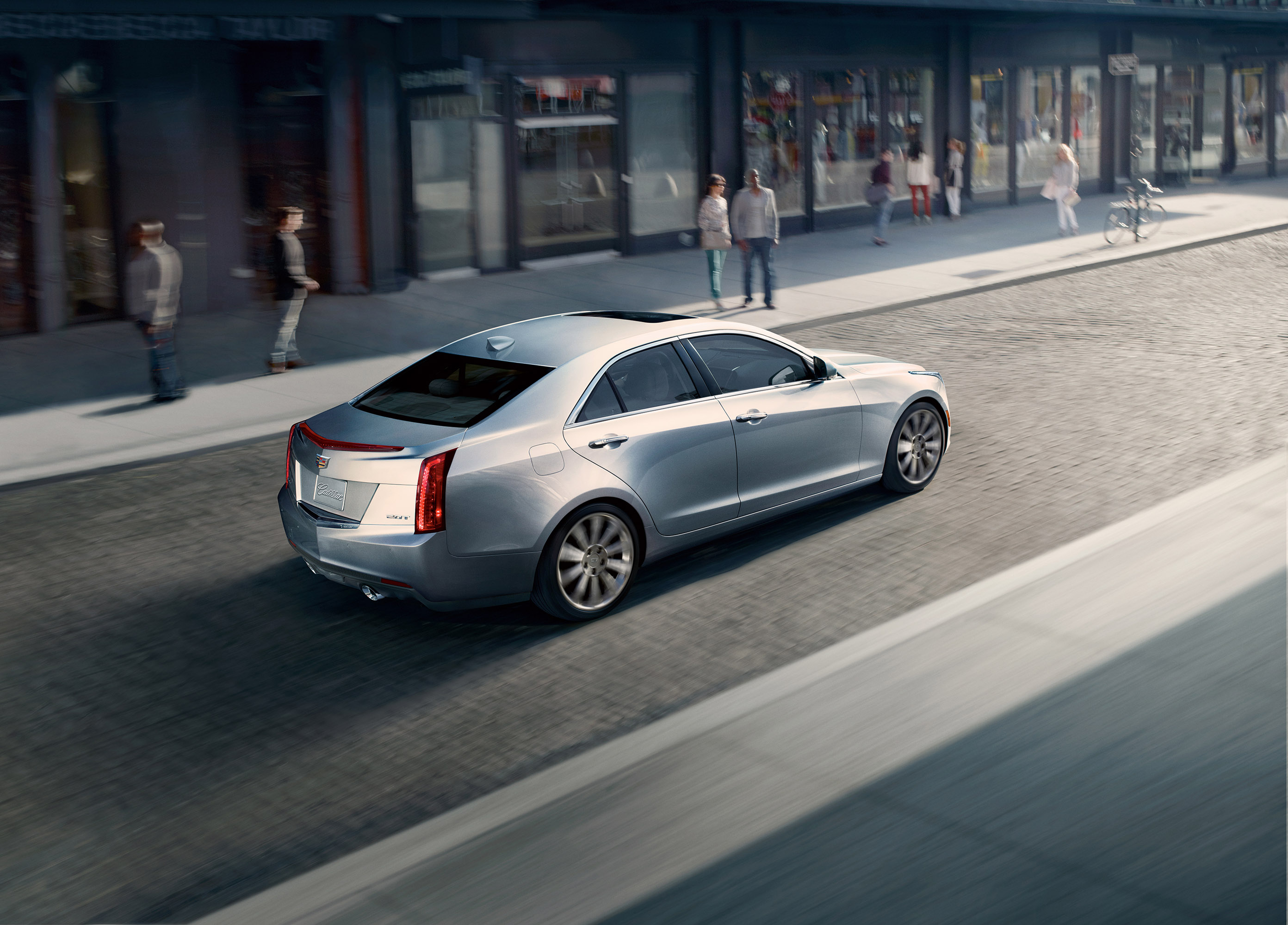 2015 Cadillac Ats Coupe And Sedan Get More Torque And