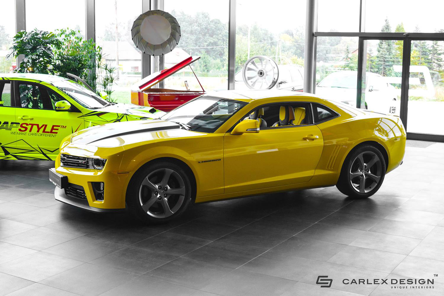 Bumblebee Inside And Out Meet Carlex Design Chevrolet