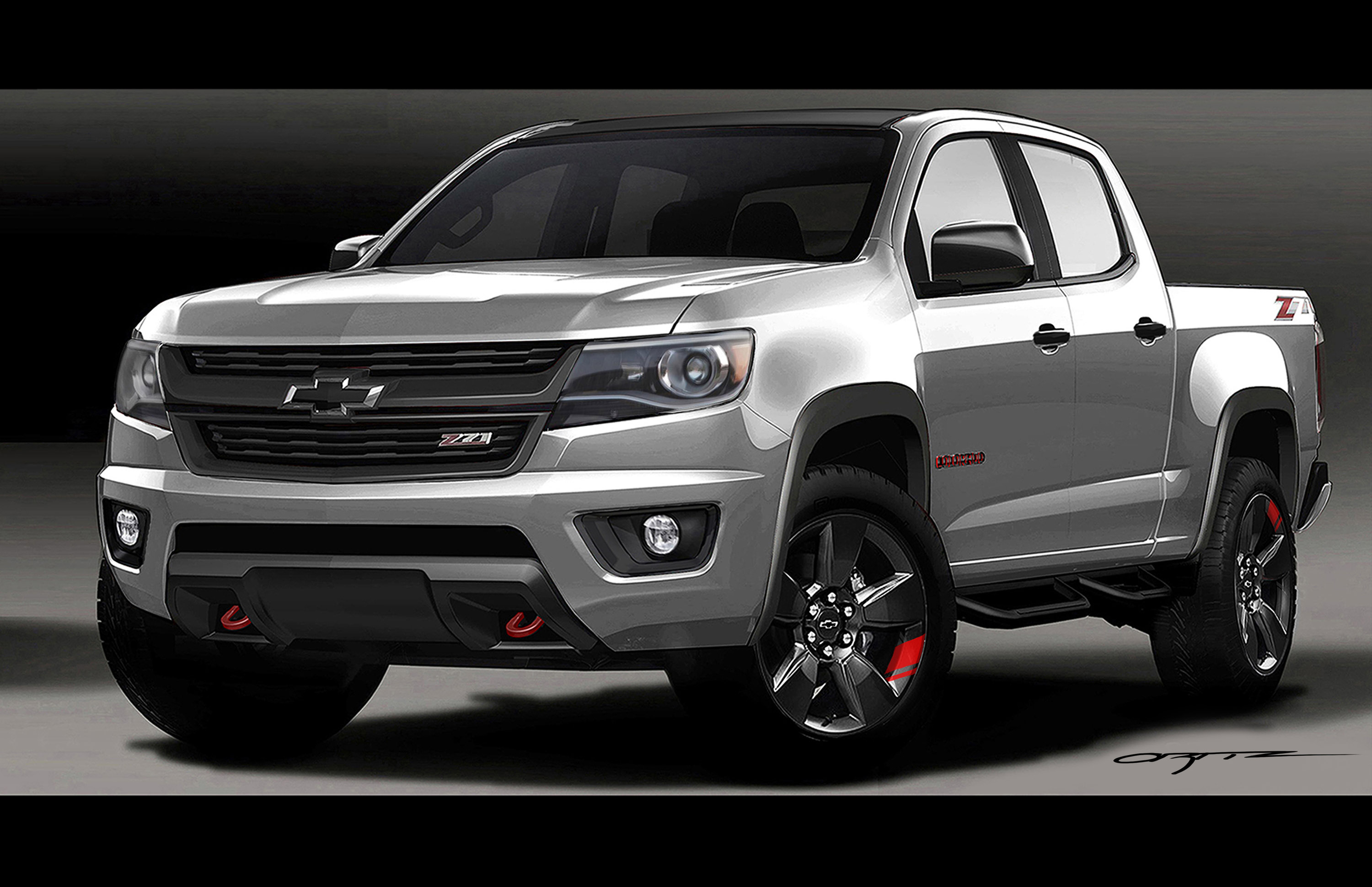 Chevrolet to Show Unique Red Line Series Concept Vehicles ...