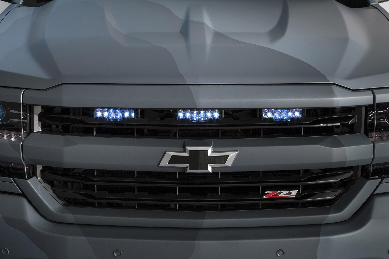 Chevrolet unveils the Silverado Special Ops concept