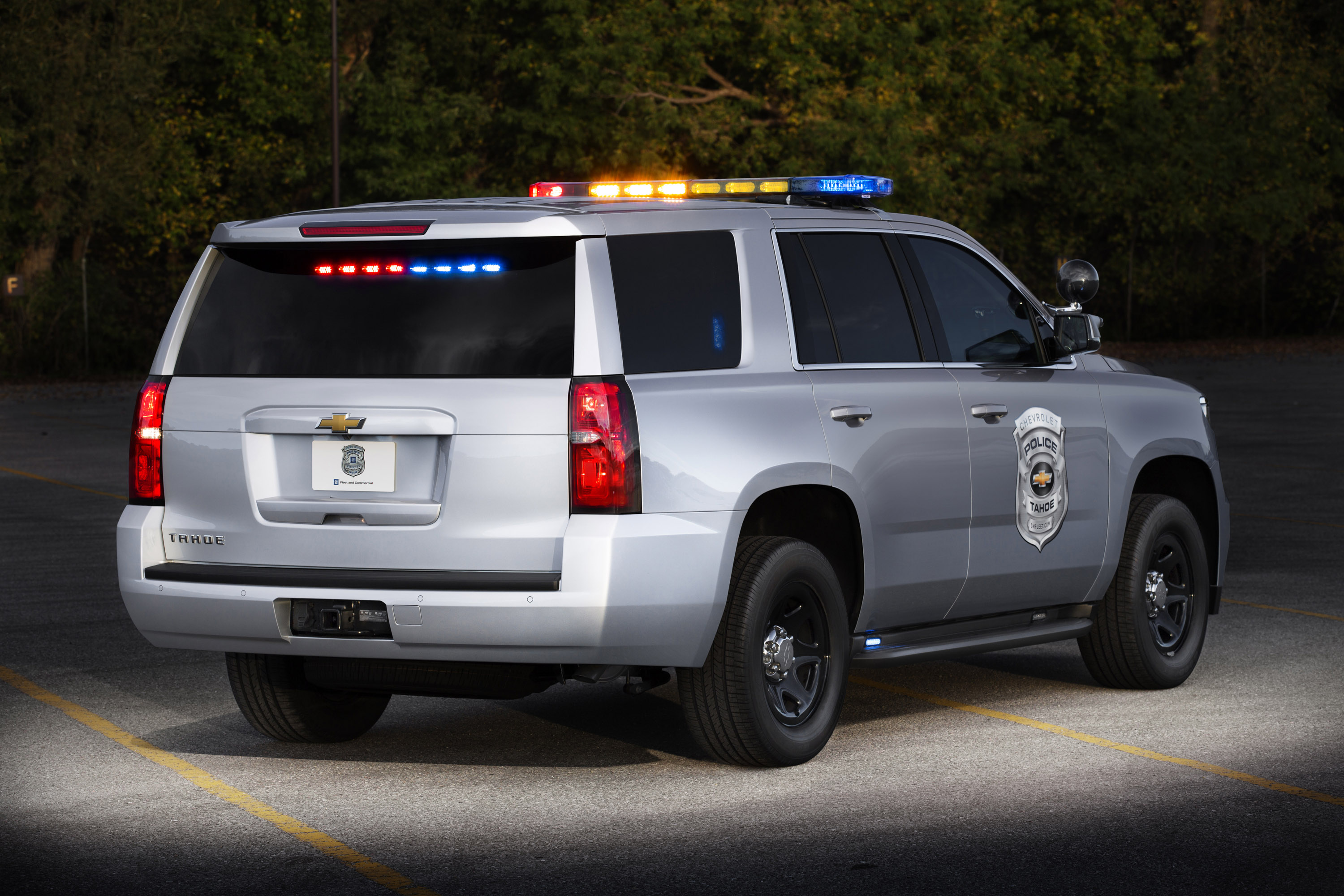 2015 chevrolet tahoe police concept offers more power. Black Bedroom Furniture Sets. Home Design Ideas