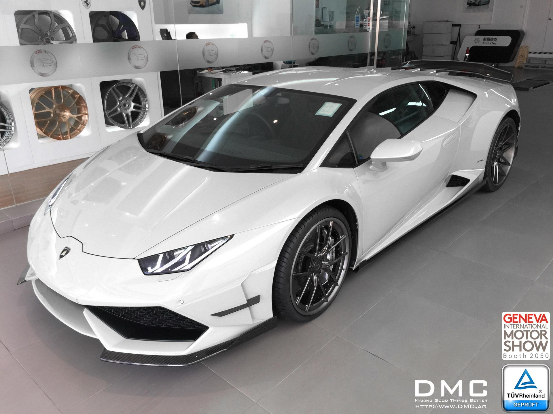 DMC Lamborghini Huracan is Already TUV-approved