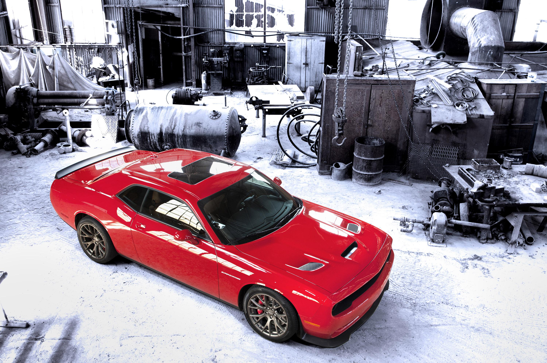 2015 Dodge Challenger Srt Supercharged With Hemi Hellcat Engine