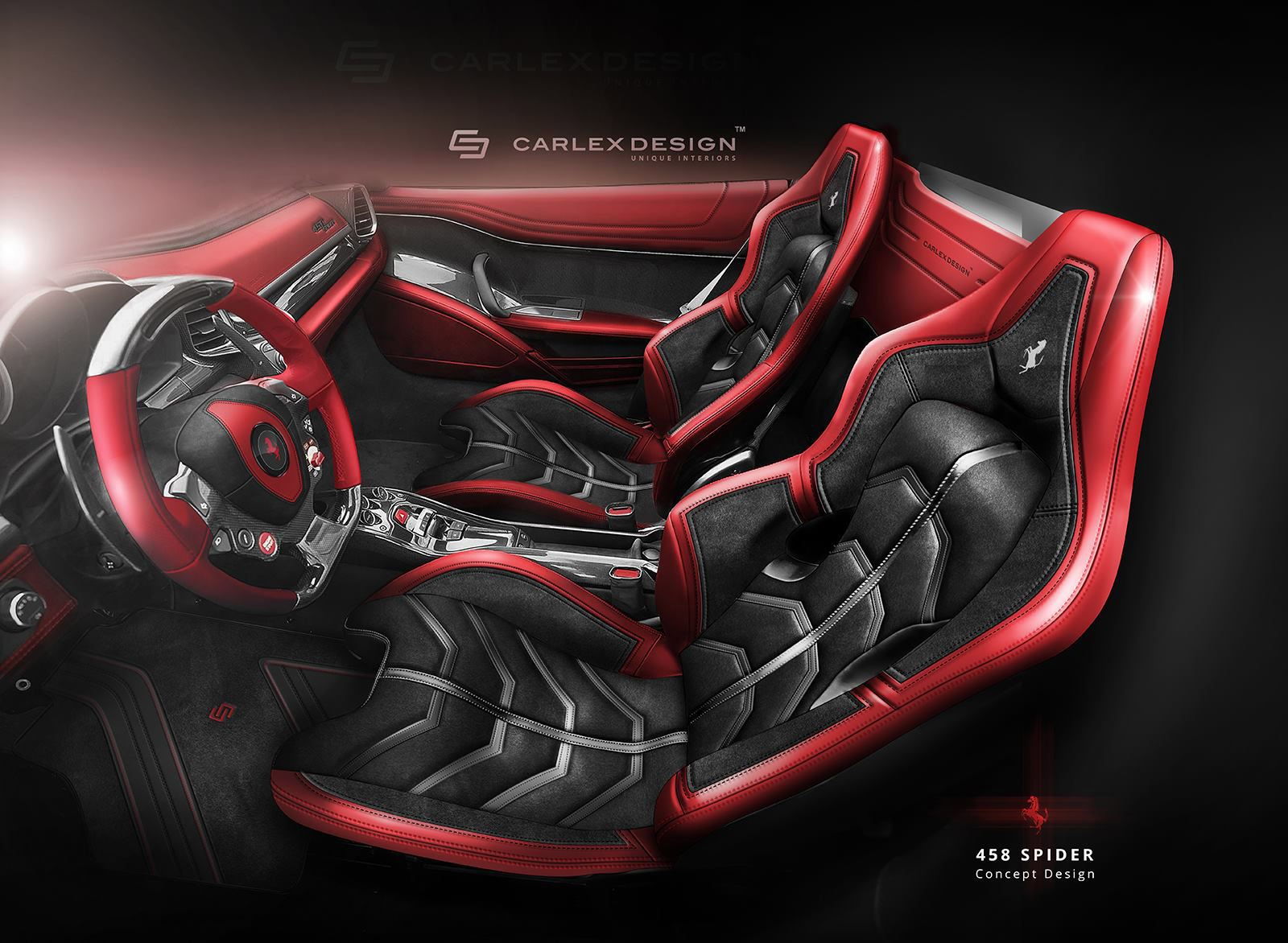 Ferrari 458 Spider Concept By Carlex Design Looks Astounding