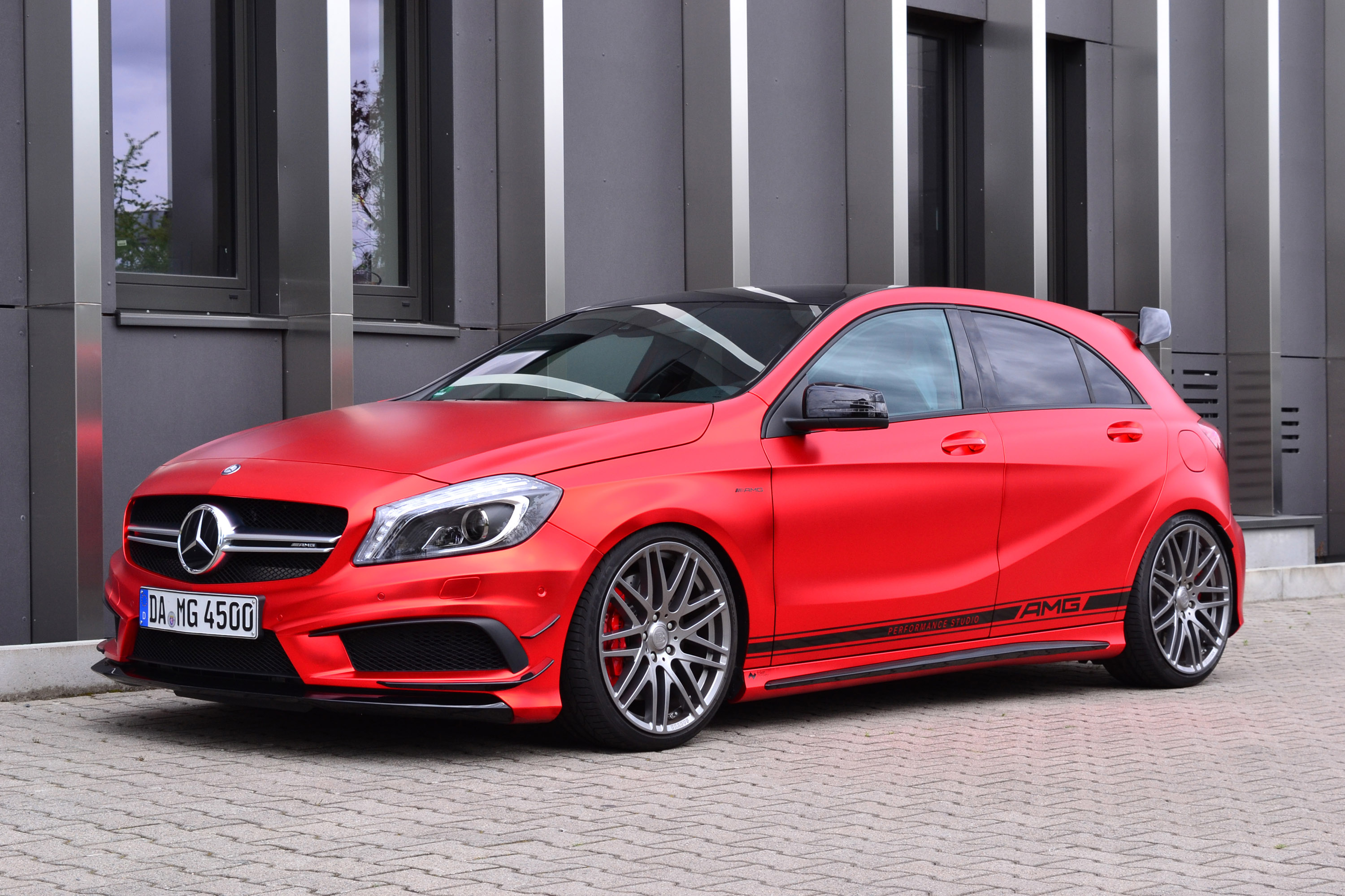 Take a look at this mercedes benz a45 amg by folien for Mercedes benz a45 amg