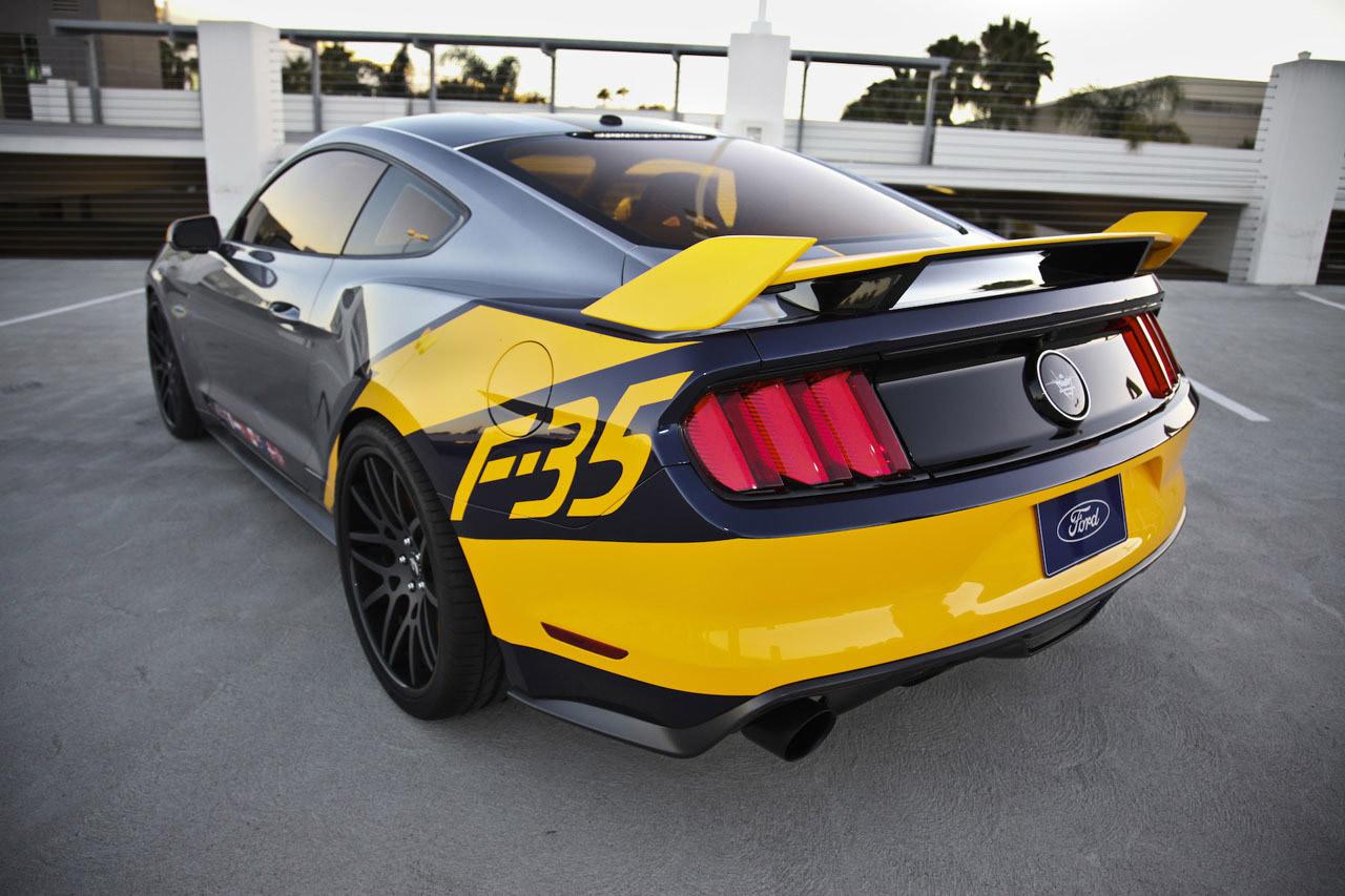 Ford Brings Under The Hammer 2015 Mustang F 35 Lightning