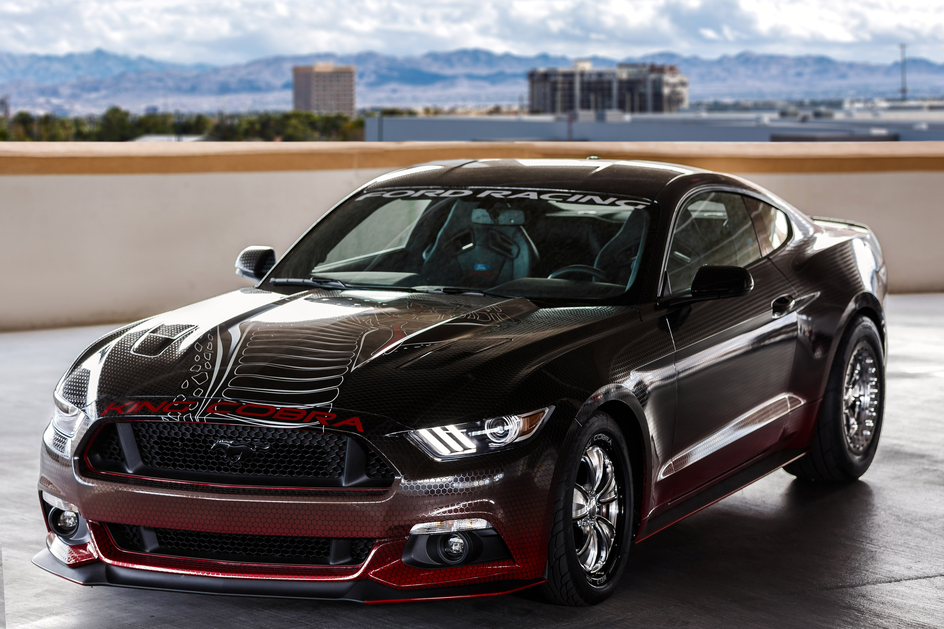 2015 Ford Mustang Gt King Cobra Parts Package