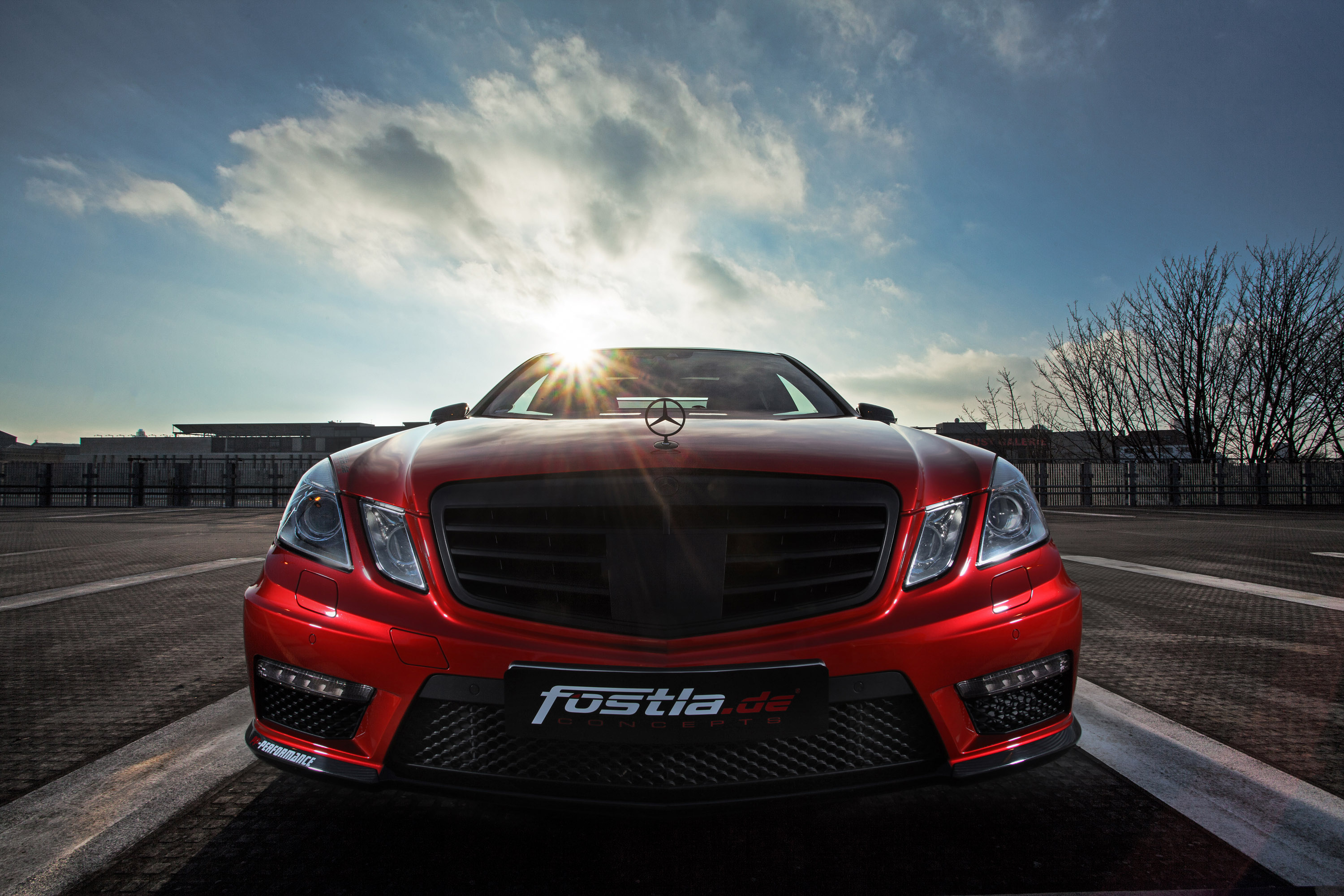 Mercedes Benz E 63 Amg W212 Wows With 720 Wild Horses