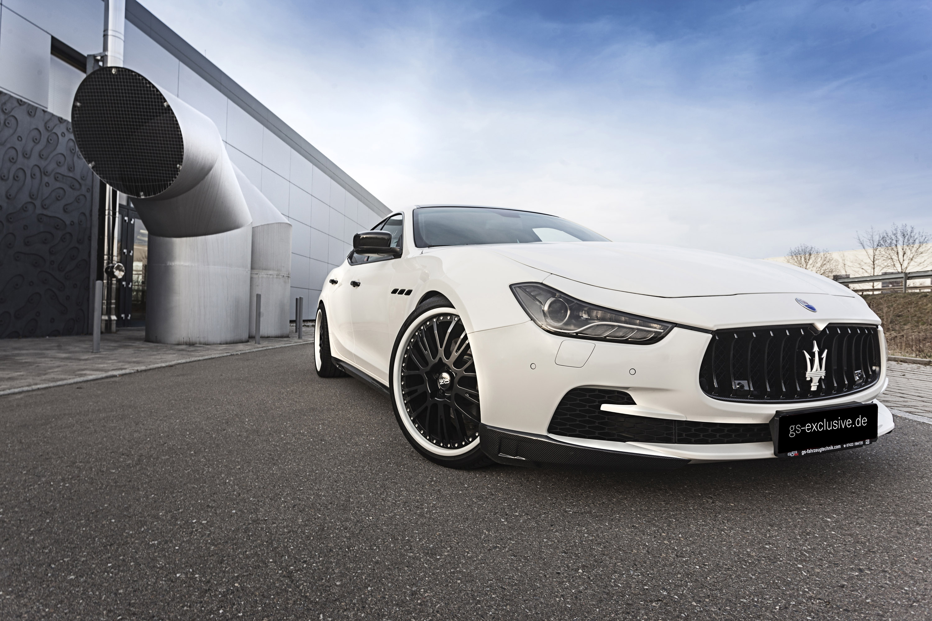 Maserati Ghibli S Q4 >> Maserati Ghibli EVO by G&S Exclusive is Way Sportier than ...