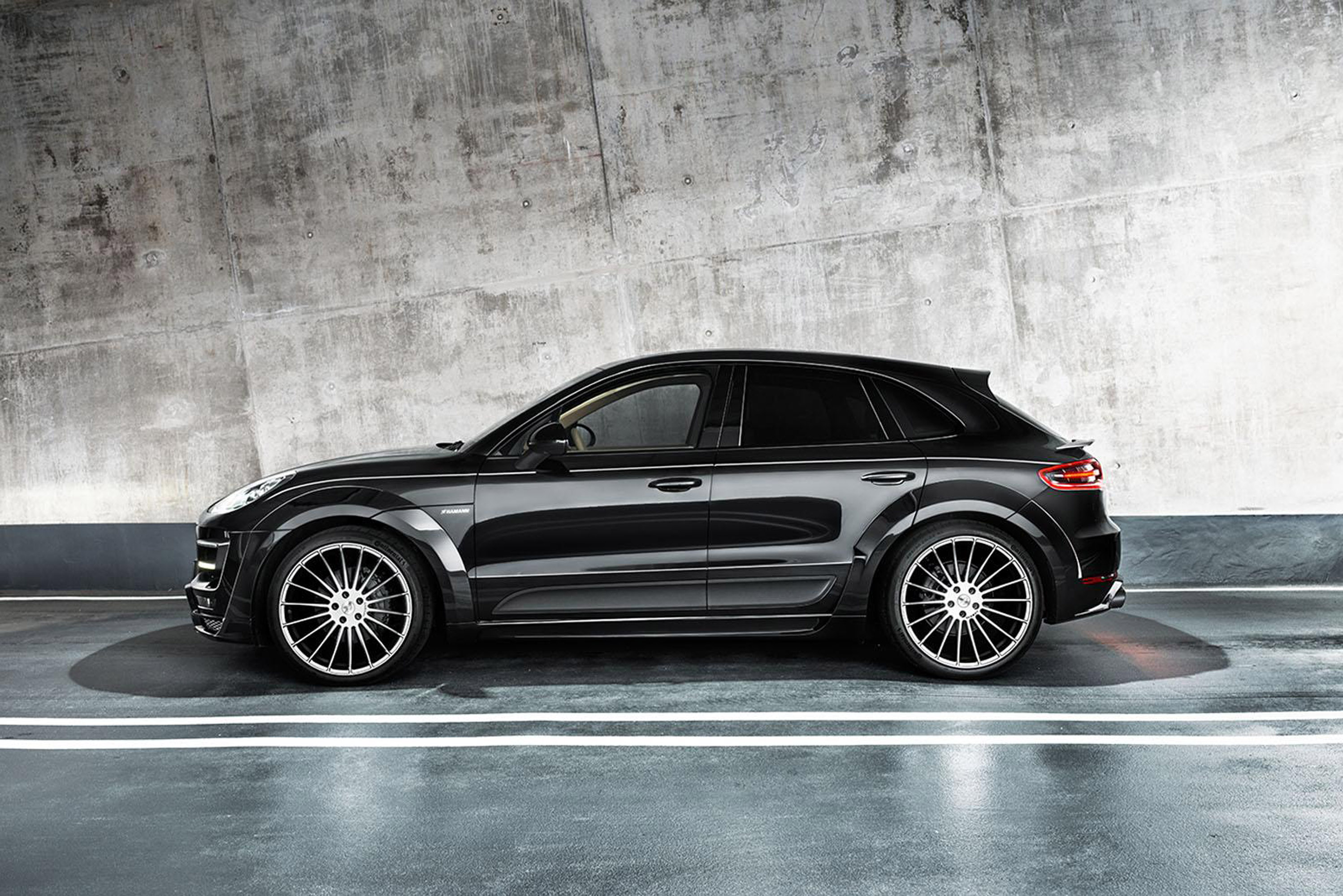 hamann macan s diesel comes with upgraded engine and restyled looks. Black Bedroom Furniture Sets. Home Design Ideas