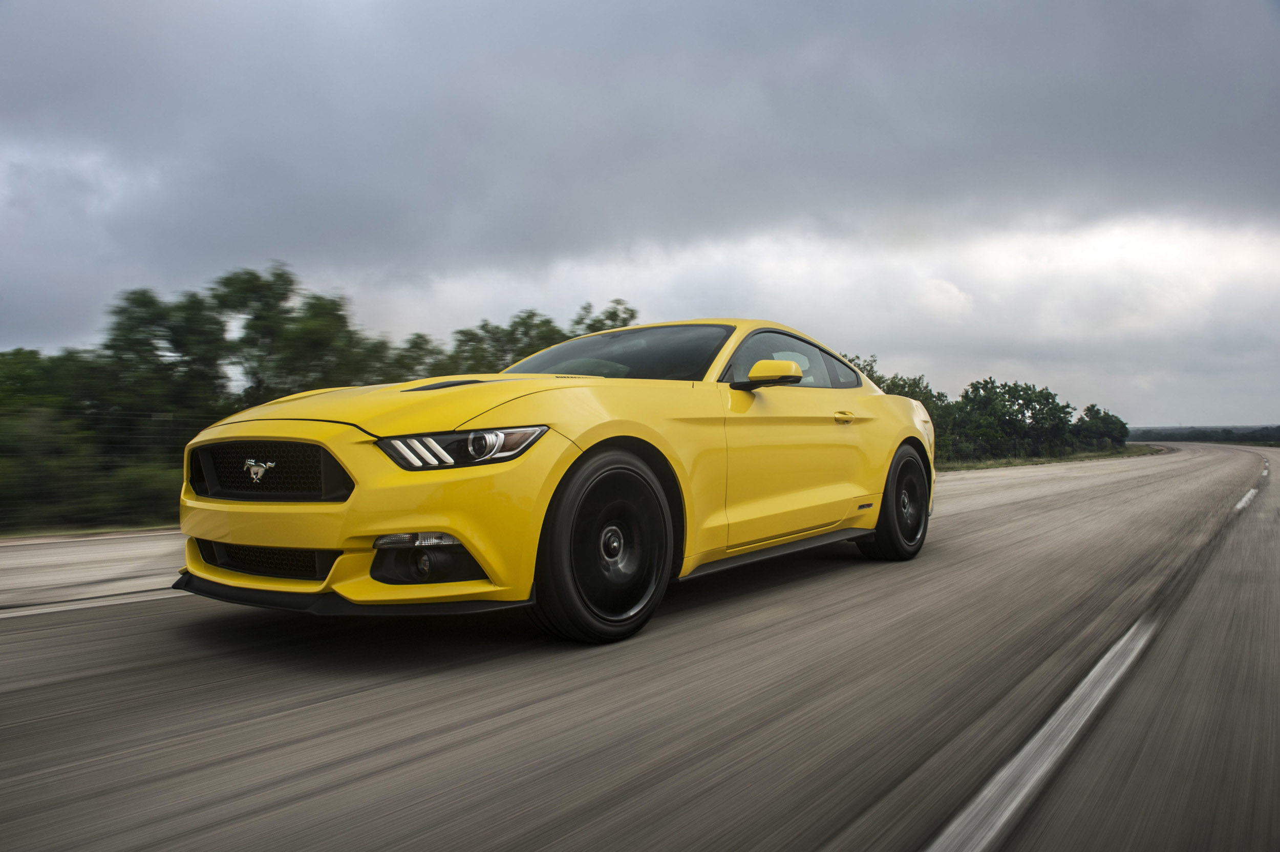 Image 30 Of 48 2018 Hennessey Mustang Gt Hpe700 Supercharged 1964 Ford Makes Top Speed Record Hitting