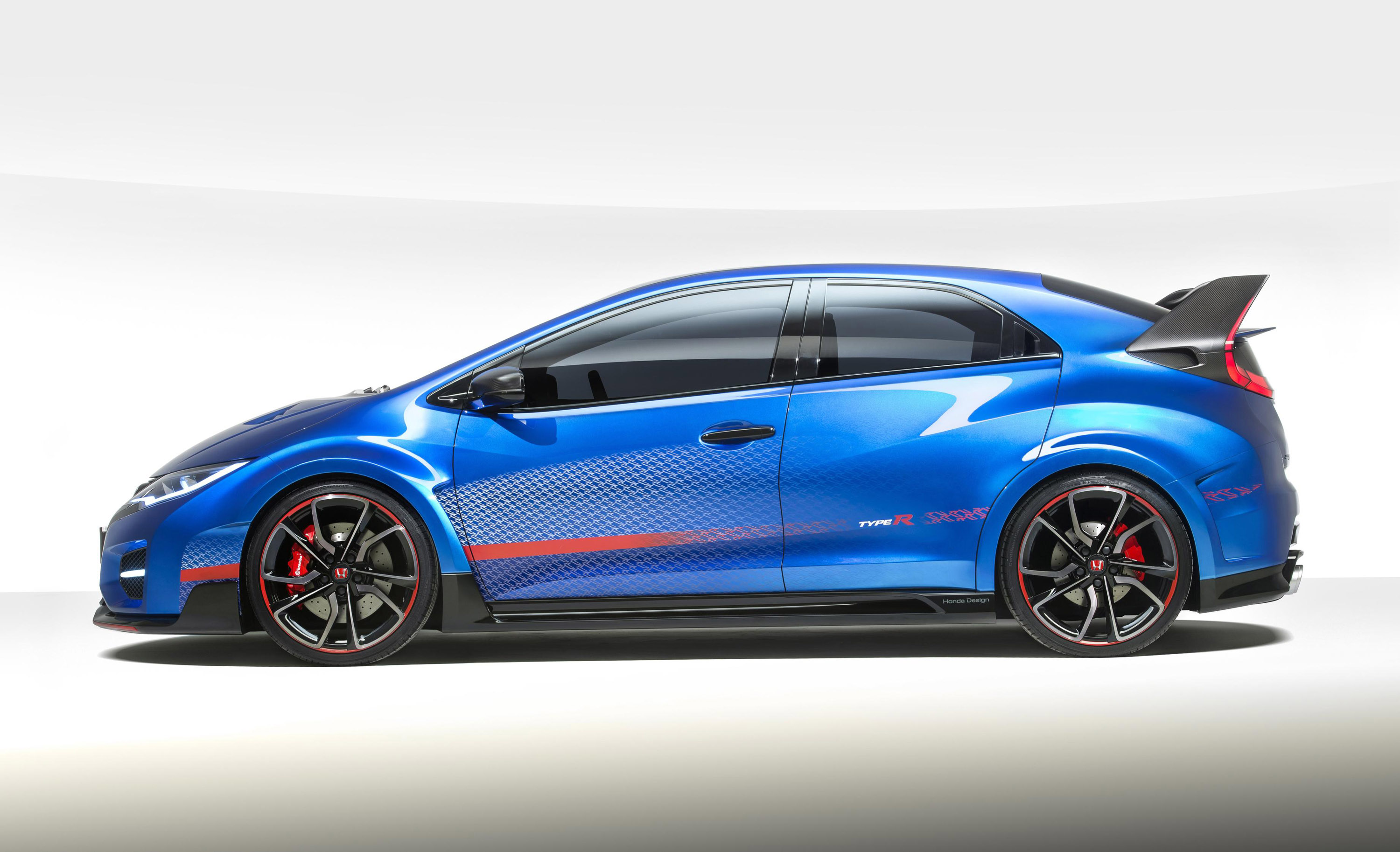 2015 honda civic type r concept previews the next gen hatch. Black Bedroom Furniture Sets. Home Design Ideas