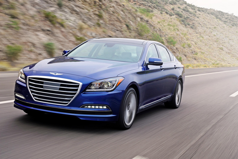 """Luxury Vehicle: 2015 Hyundai Genesis Scoops Ruedas ESPN """"Best Luxury Sedan"""
