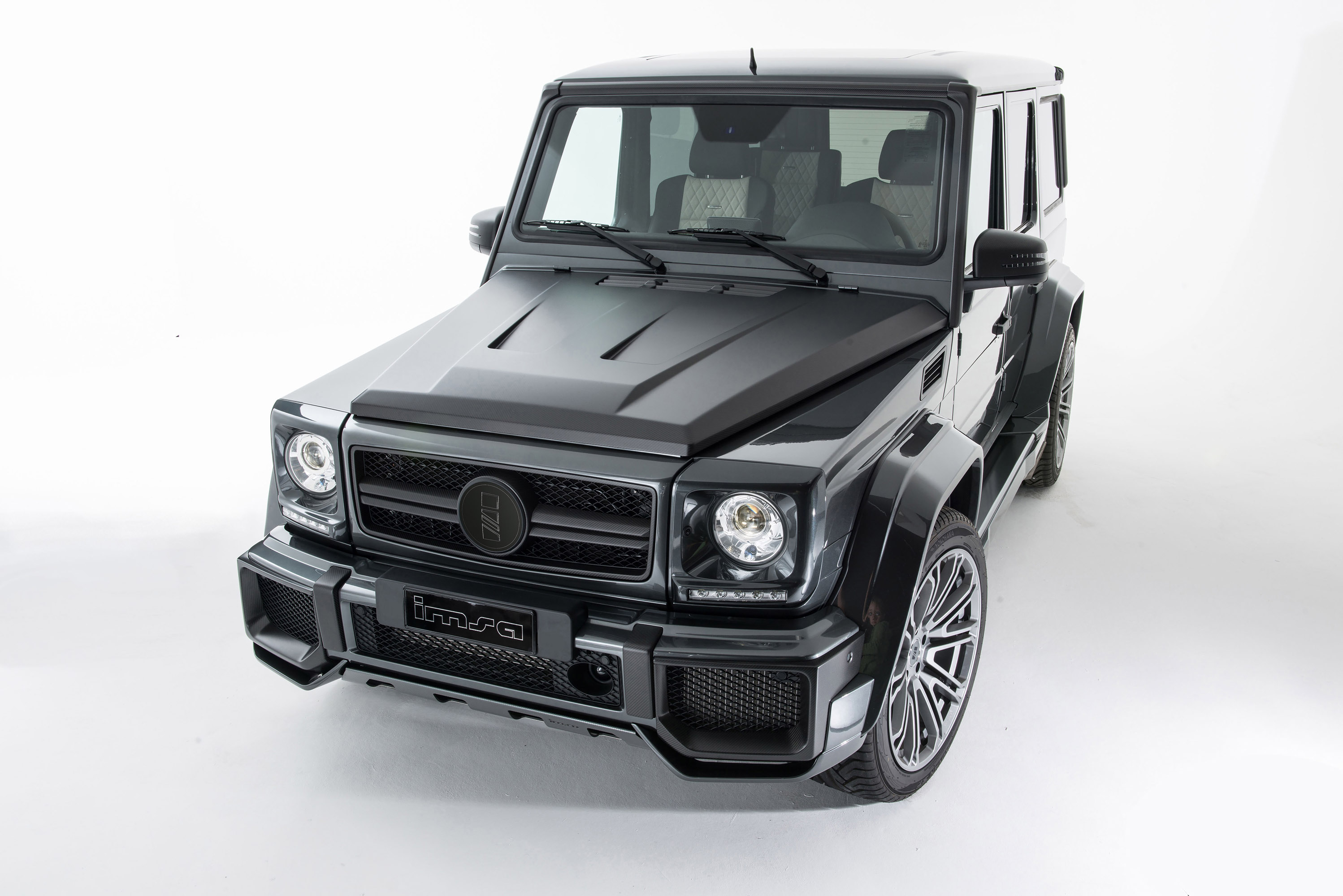 Imsa unveils stylish mercedes benz g63 amg for Mercedes benz g 63