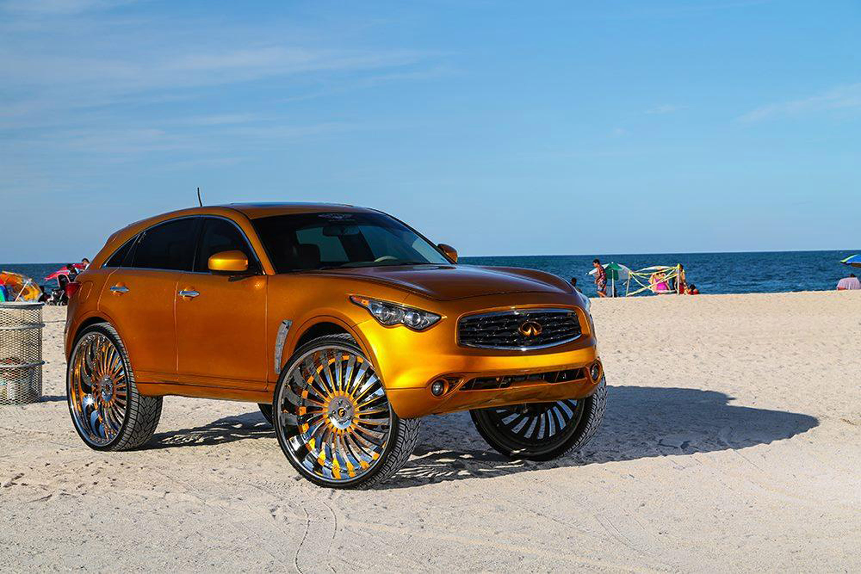 2017 Infiniti Fx With 32 Inch Wheels 8 Of