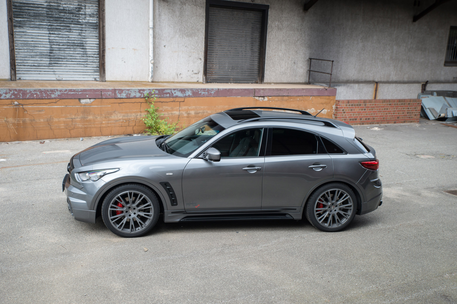 Does The Ahg Sports Infiniti Qx70 Really Make A Difference
