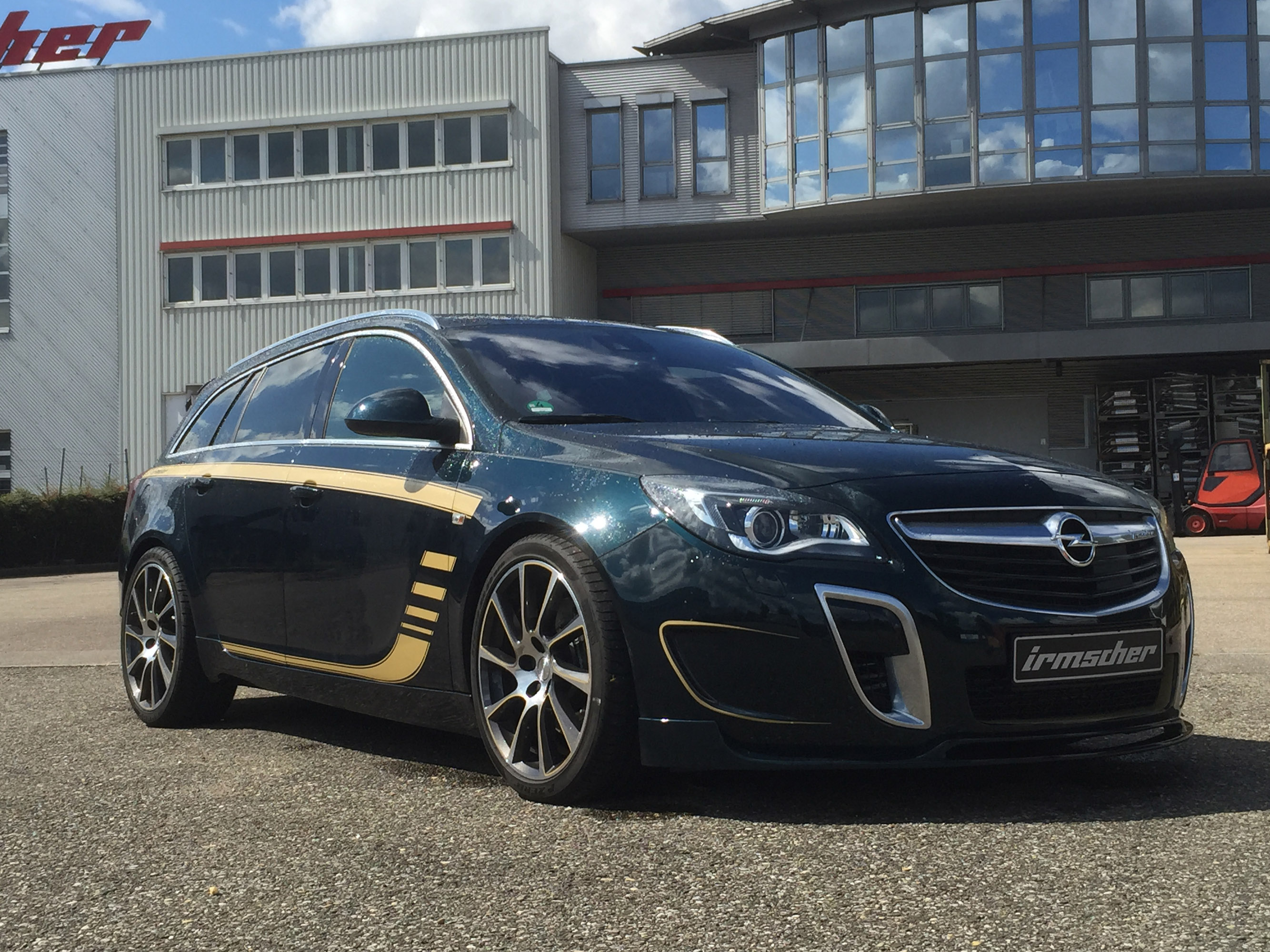 irmscher releases special edition opel insignia is3 called bandit. Black Bedroom Furniture Sets. Home Design Ideas