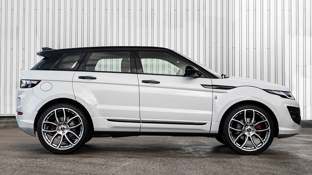 Car Detailing Cost >> Kahn Range Rover Evoque RS Sport Comes in Ecstatic Fuji White