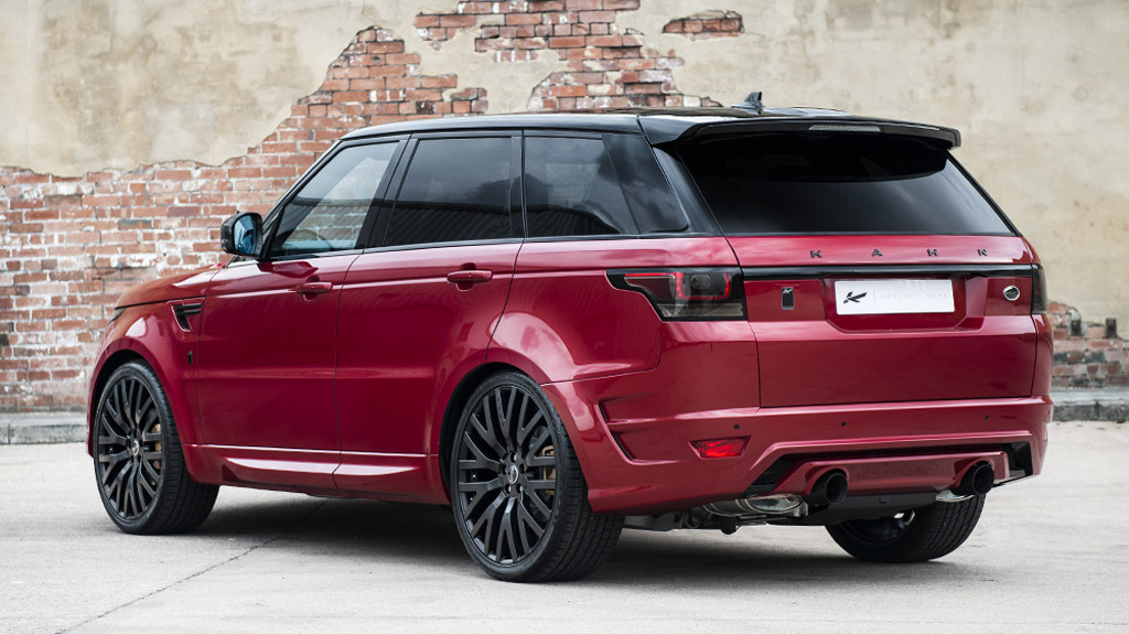 Used Range Rovers >> Kahn Reveals Stunning Firenze Red Range Rover Sport 400LE