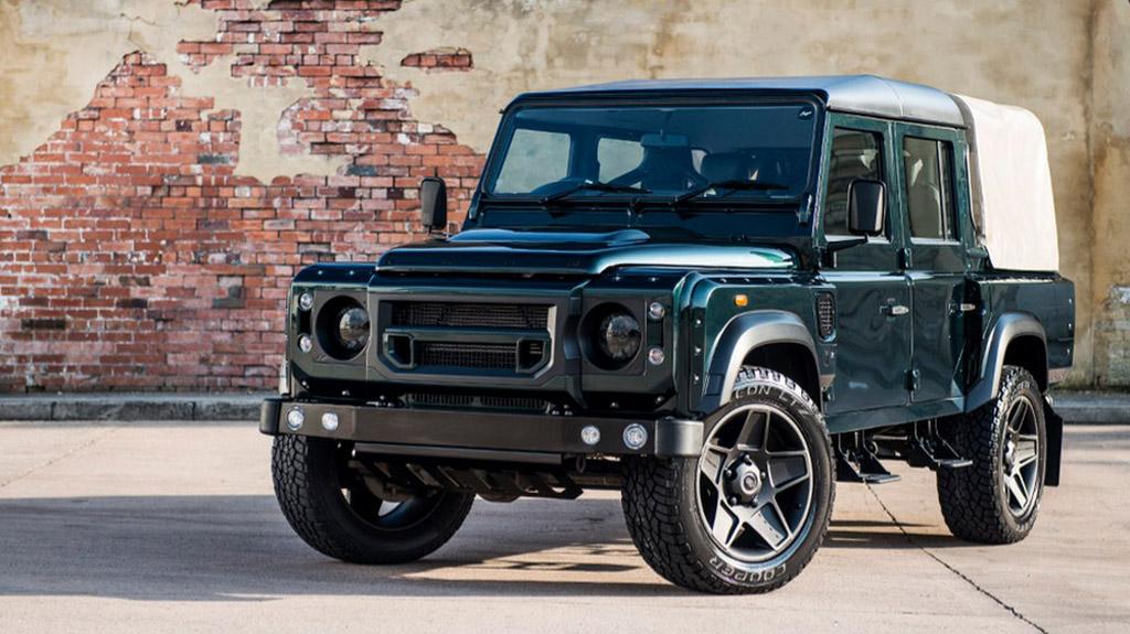 Kahn Reveals Land Rover Defender 110 Double Cab Pick Up Cwt