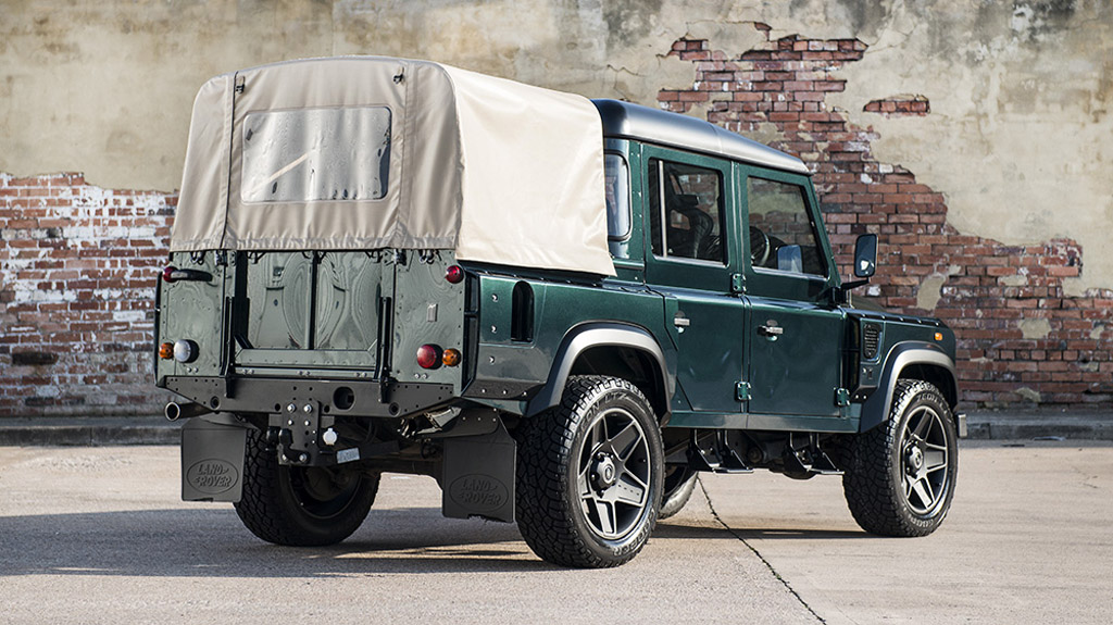 kahn reveals land rover defender 110 double cab pick up cwt. Black Bedroom Furniture Sets. Home Design Ideas