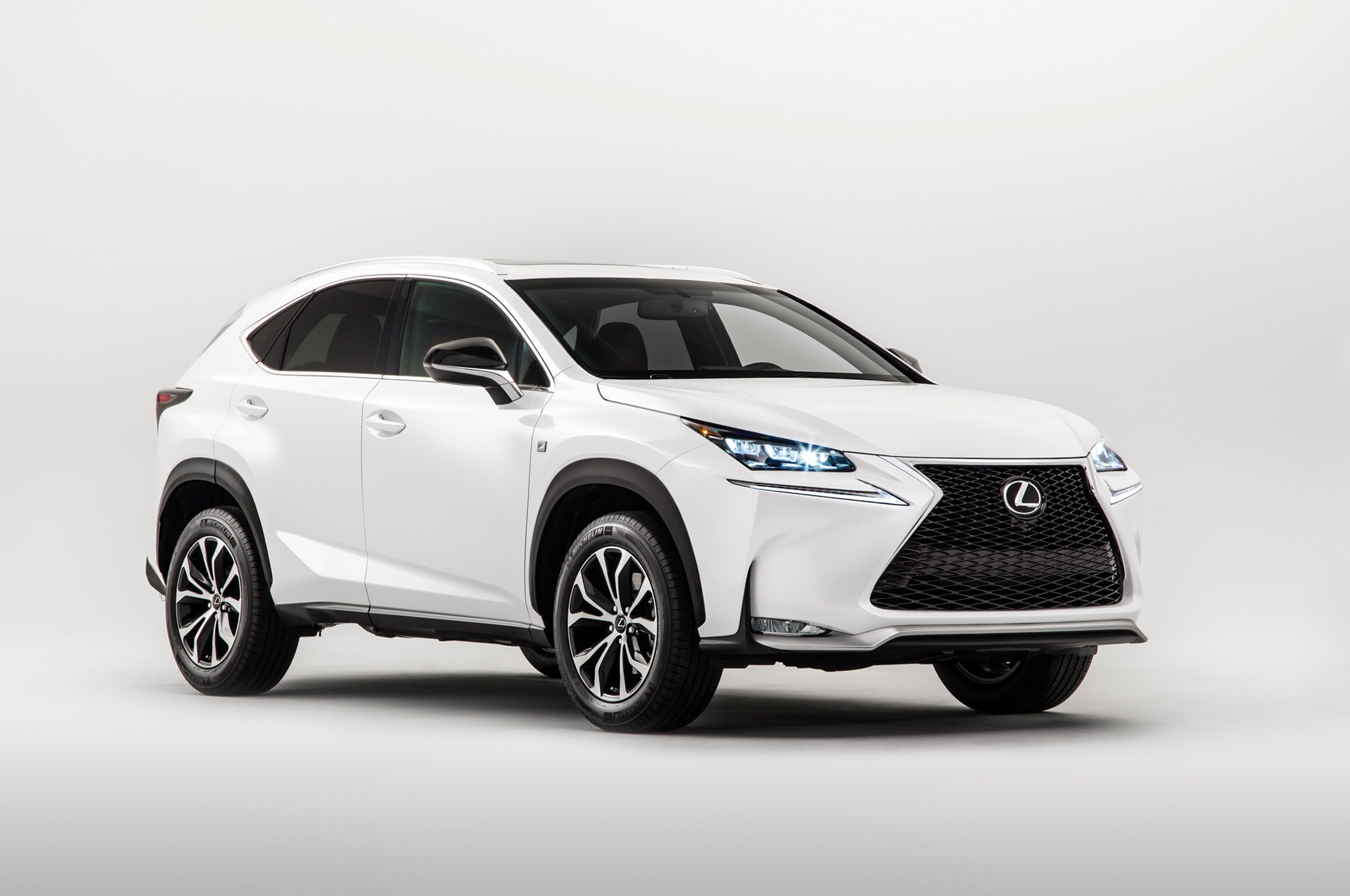 lexus offers turbo or hybrid power in new 2015 nx crossover. Black Bedroom Furniture Sets. Home Design Ideas