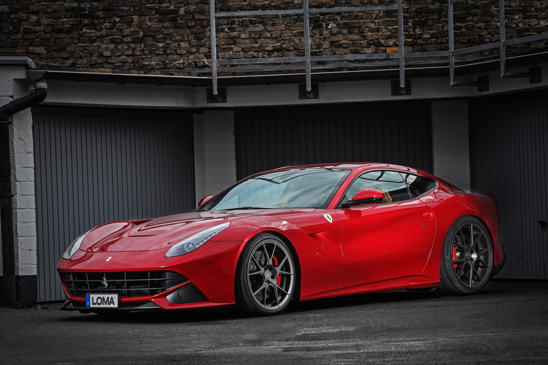 LOMA And Its Ferrari F12 Berlinetta: Beauty Comes In