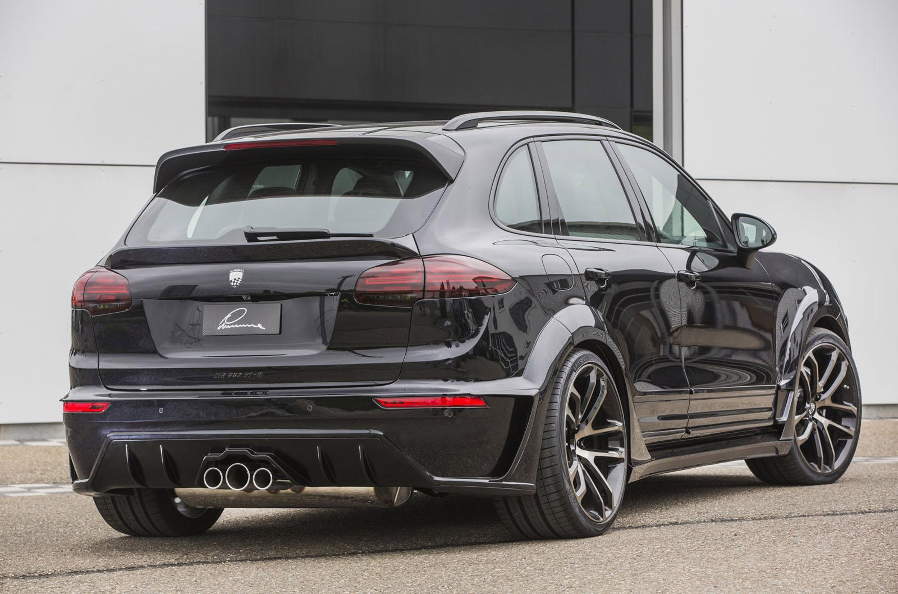 LUMMA Design Porsche Cayenne received numerous upgrades