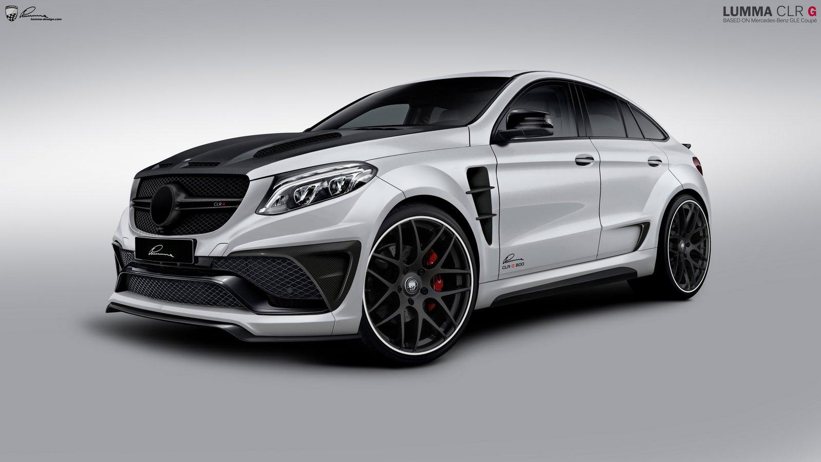 Lumma design to present mercedes benz gle coupe clr g 800 for Mercedes benz of minneapolis