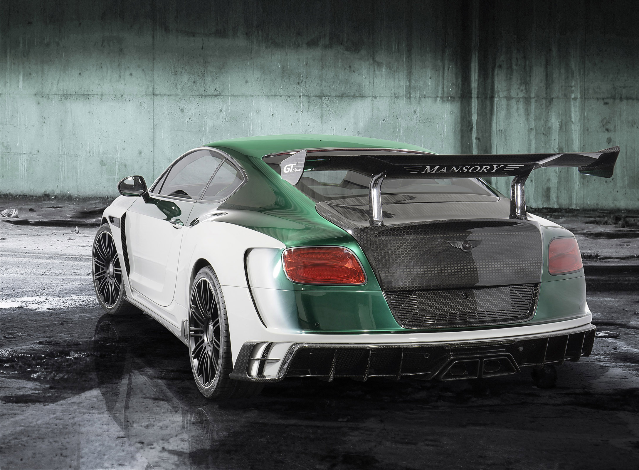 Mansory GT Race Is A Brilliant 1000 HP Bentley Continental