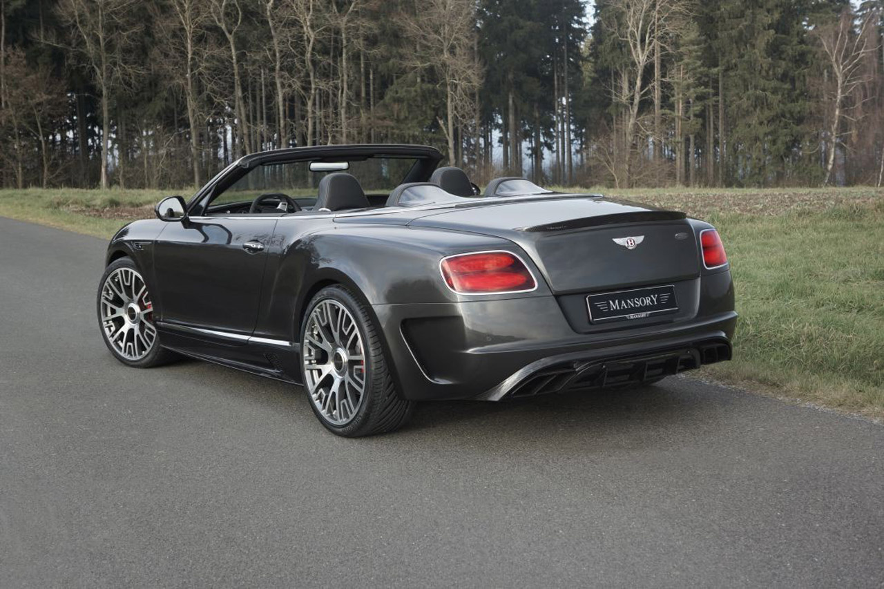 Mansory Creates 50 Exclusive Bentley Continental Gt C Editions