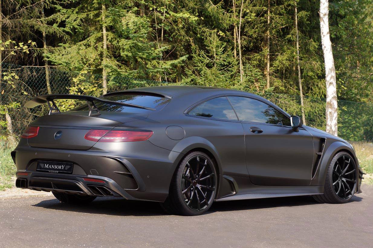 mansory prepares 1000hp mercedes amg s63 coupe black. Black Bedroom Furniture Sets. Home Design Ideas