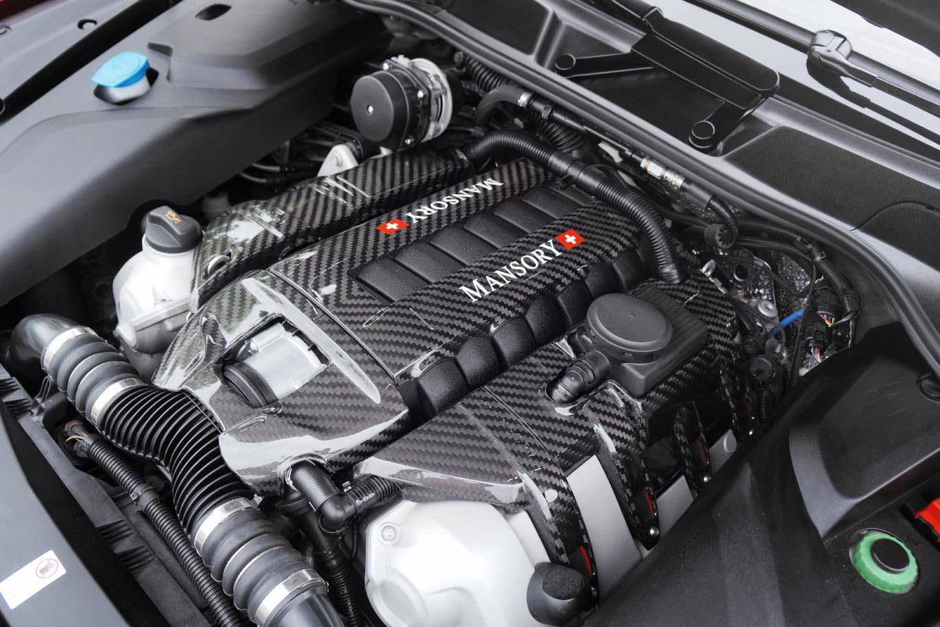 MANSORY Uprates Porsche Cayenne Turbo S to 620HP via ...